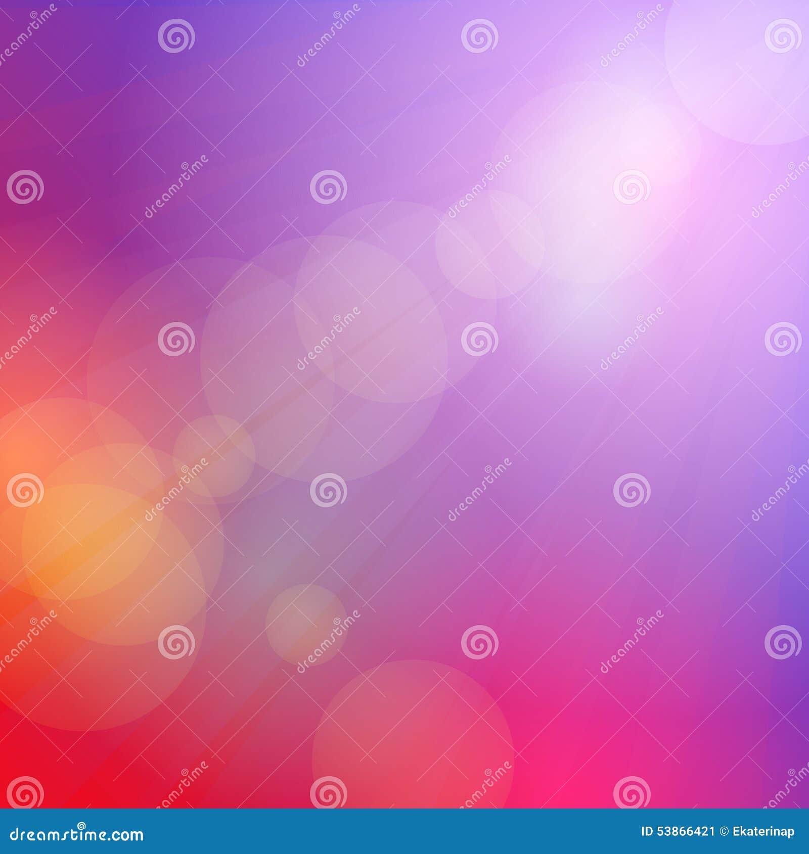 Abstrakter Himmelrosahintergrund, Sonnenuntergang, Dämmerung, Weiche gefärbt Vektor