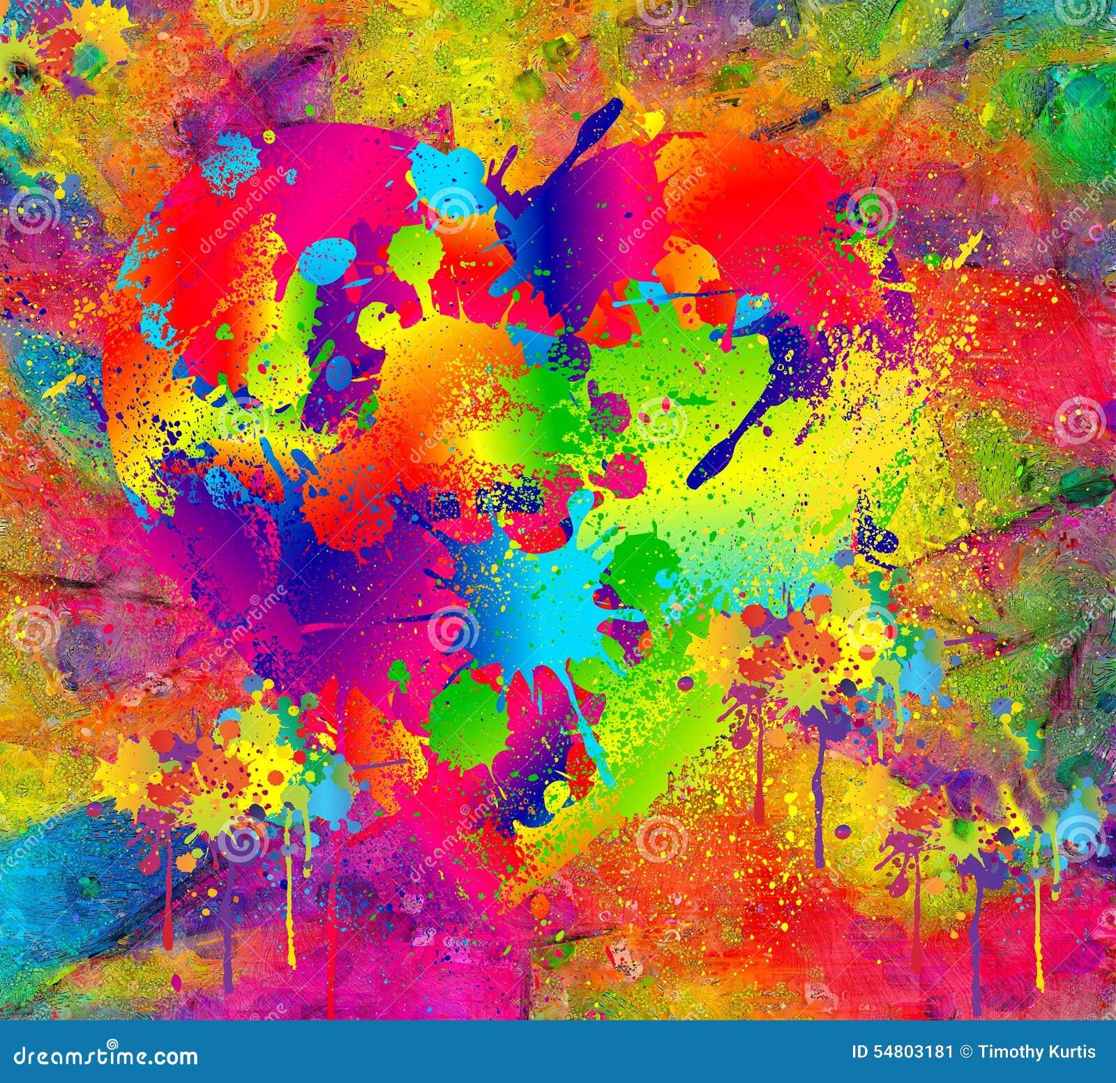 Bunte farben hintergrund