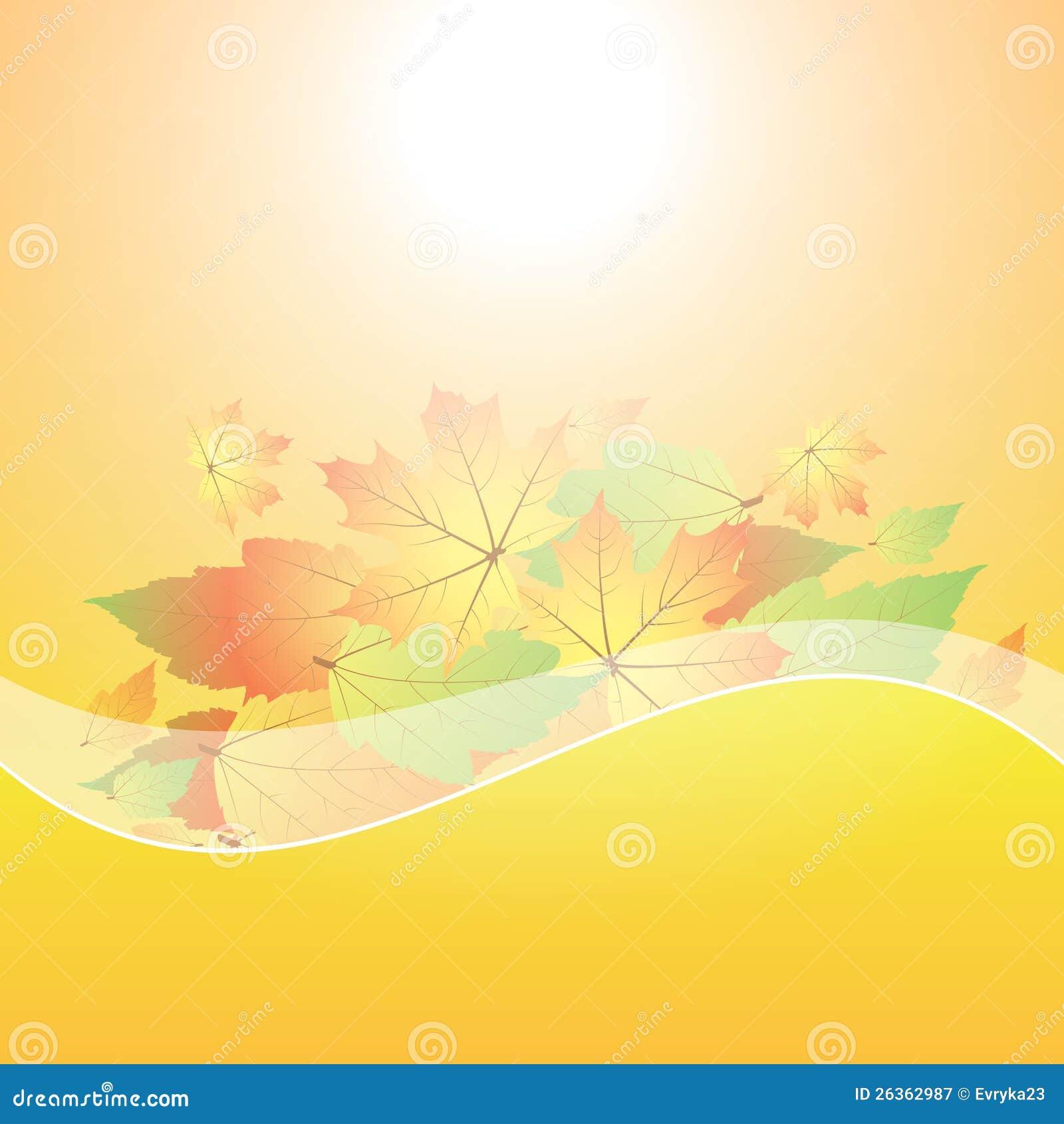 Abstrakter Hintergrund des Herbstes