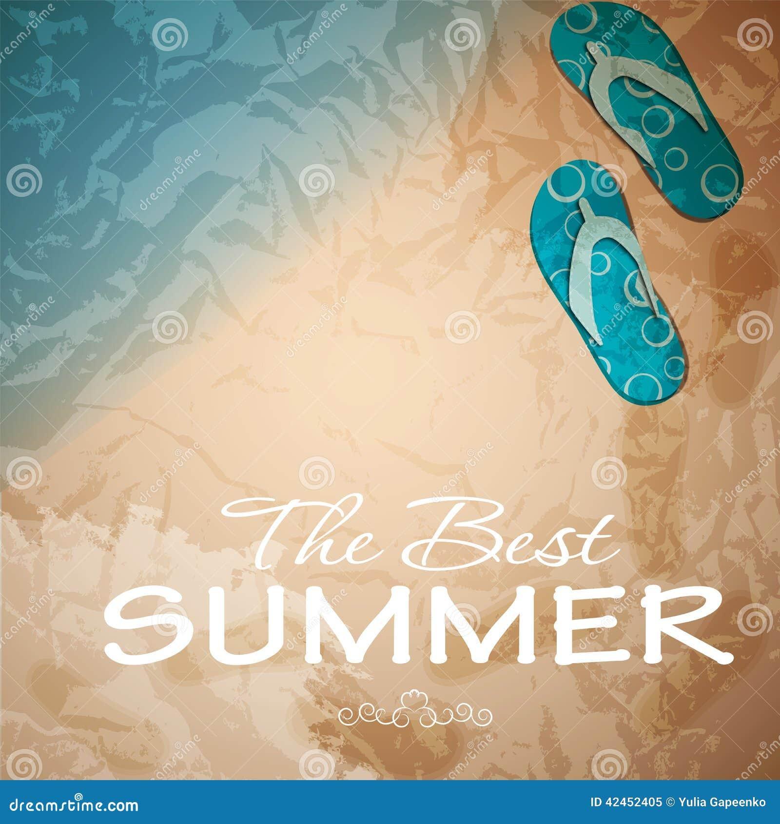 Abstrakter Hintergrund des Sommers Auch im corel abgehobenen Betrag