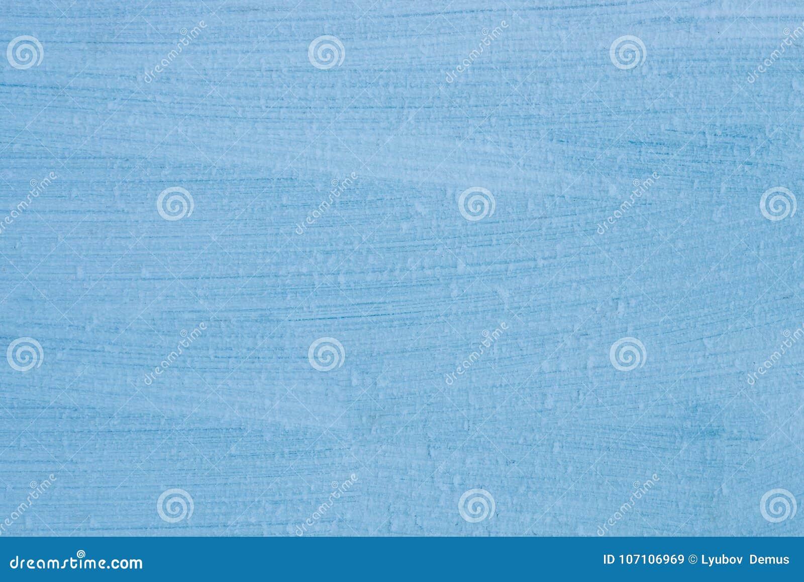 Abstrakter Hintergrund, Metallbeschaffenheit, Streifen, blaue Farbe und bedeckt mit Frost,
