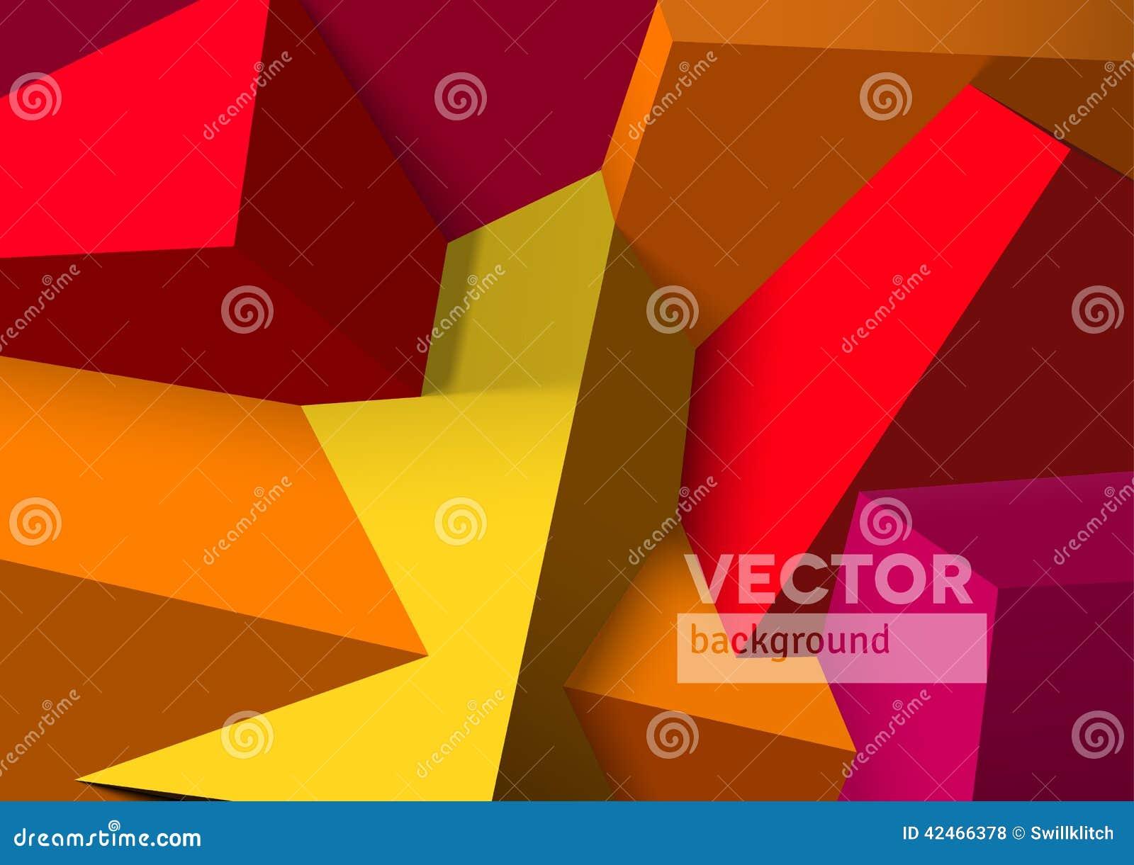 Abstrakter Hintergrund mit Überschneidungsrot und