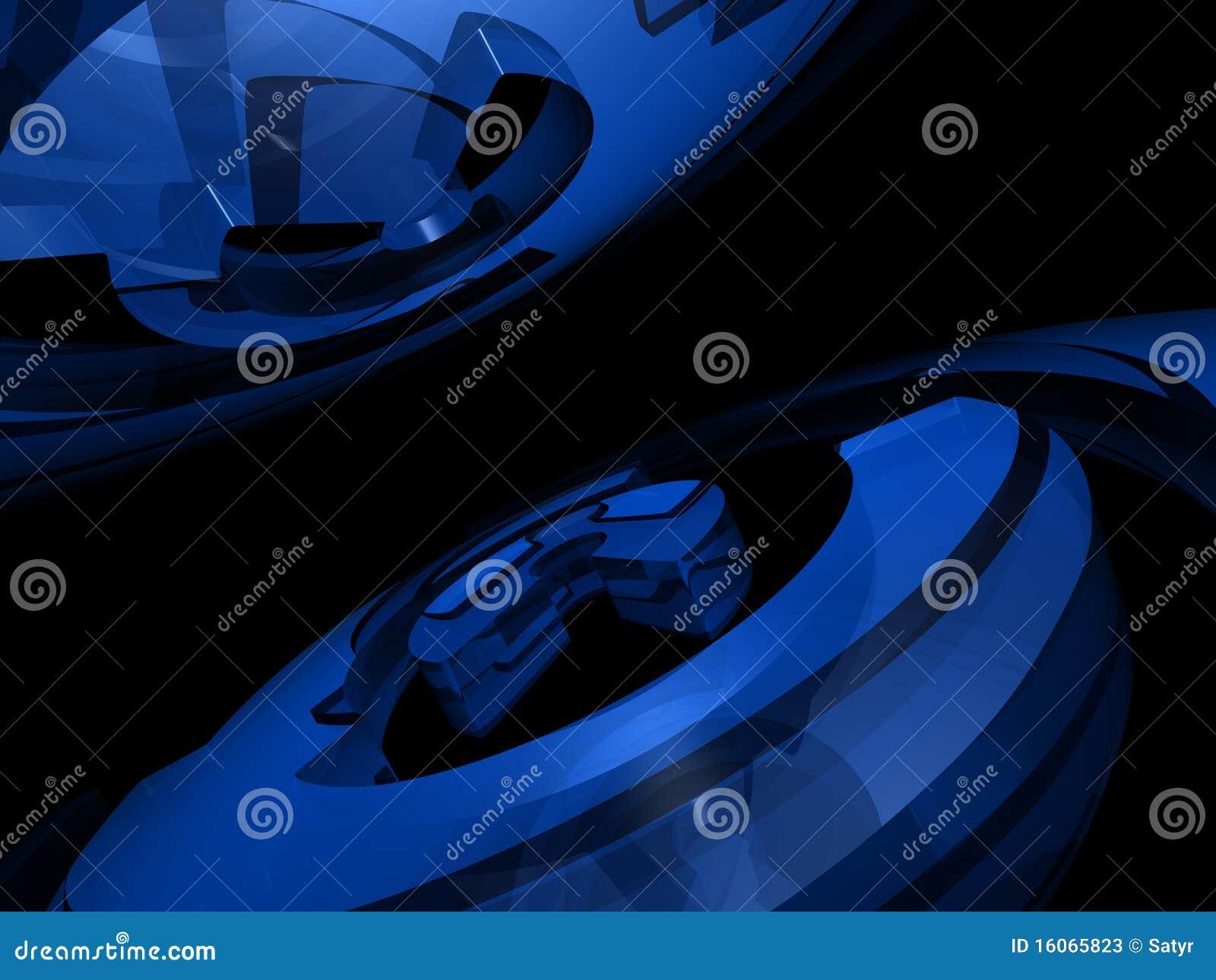 Abstrakter Hintergrund - Ringe