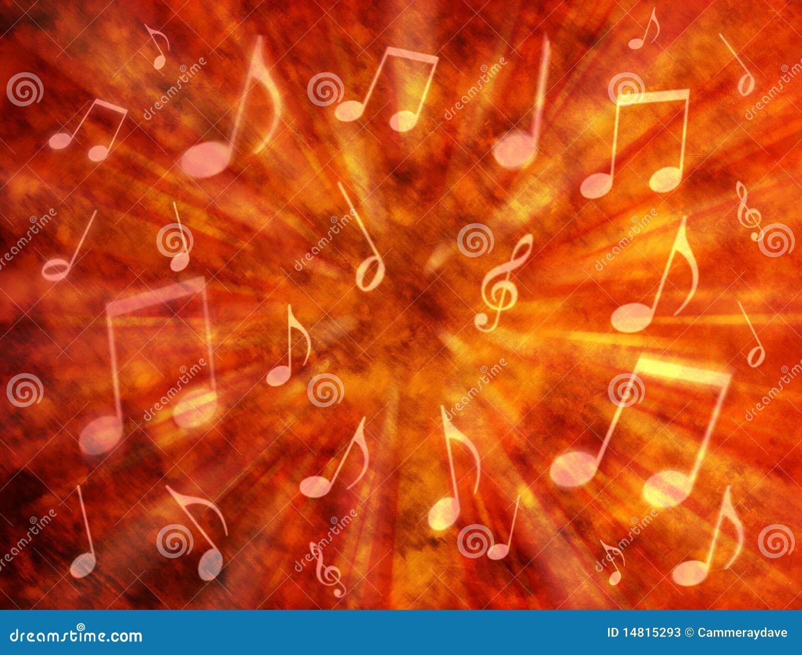 Abstrakter Musik-Hintergrund