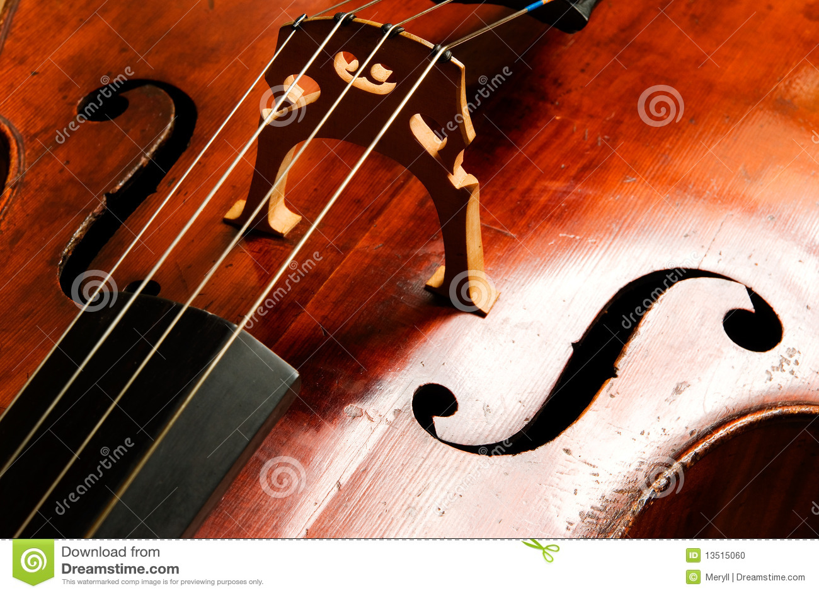 Abstrakter Musikhintergrund Violoncello