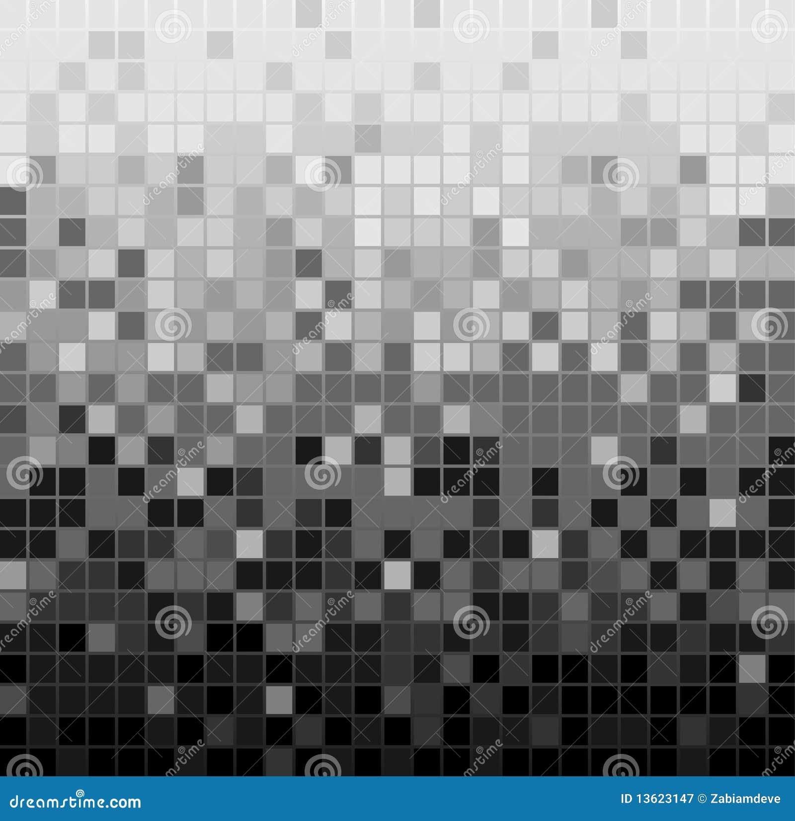 Abstrakter quadratischer Pixelmosaikhintergrund