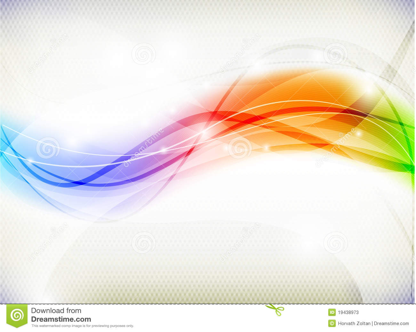 Abstrakter Regenbogen-Hintergrund Stockfotos - Bild: 19438973