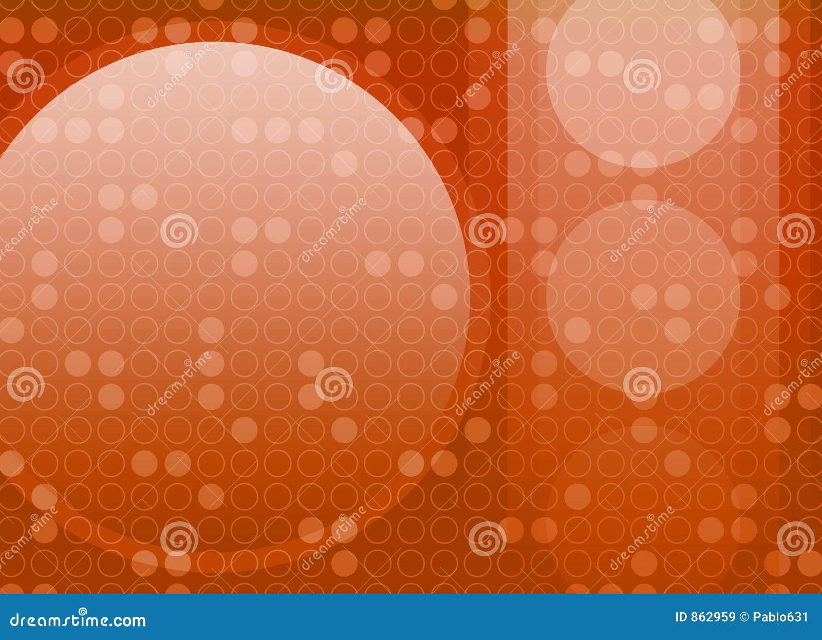 Abstrakter Retro- Kreis-Hintergrund