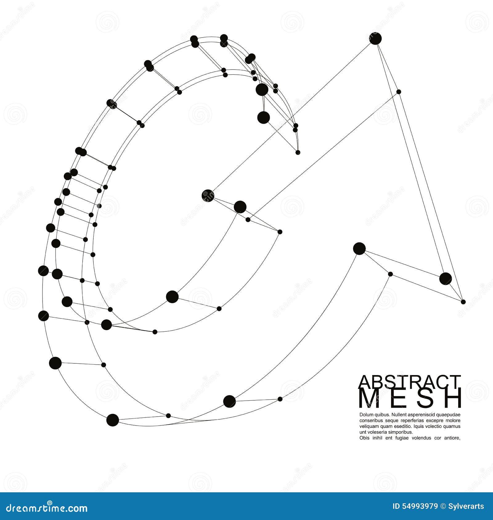 Abstrakter Vektorhintergrund, moderne Arttechnologie und Wissenschaft