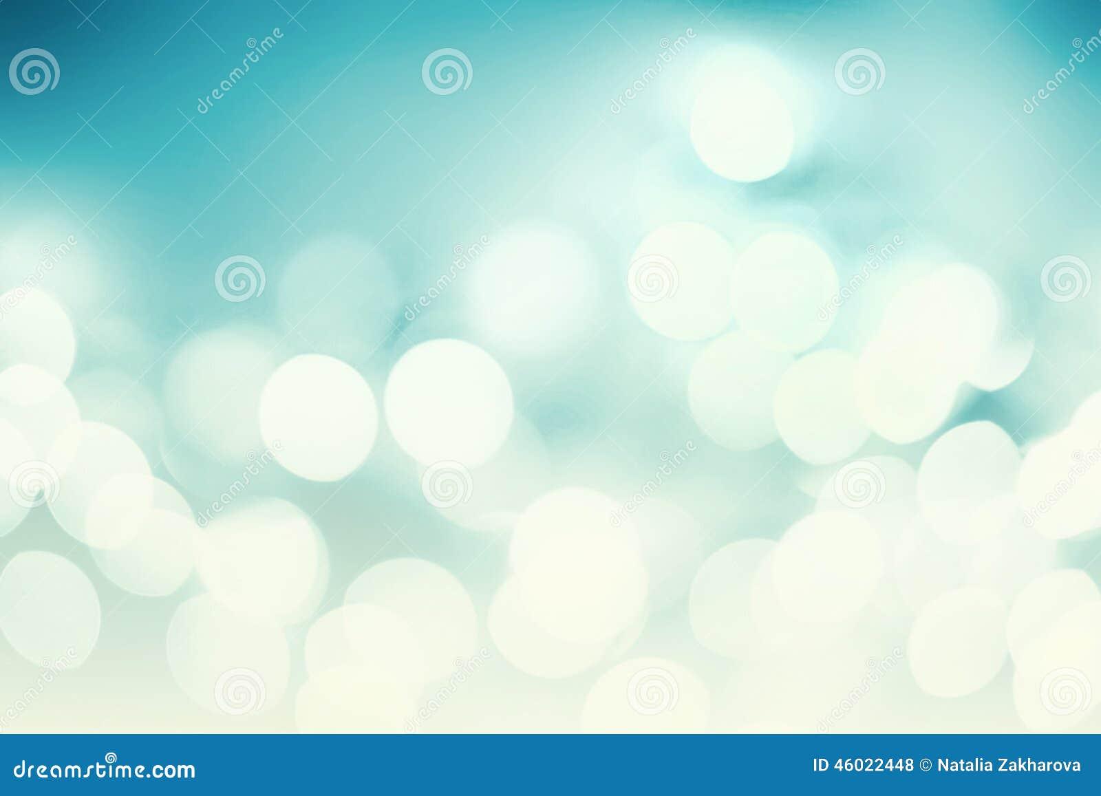 Abstrakter Weihnachtshintergrund mit bokeh Lichtern und Platz für te