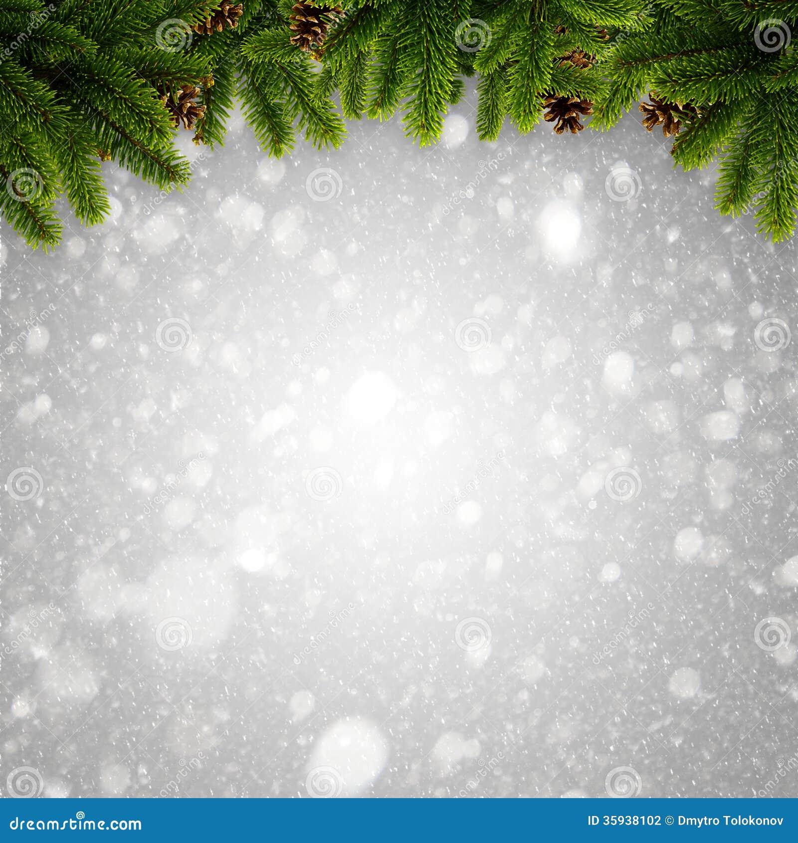 Abstrakter Winter und Weihnachtshintergründe