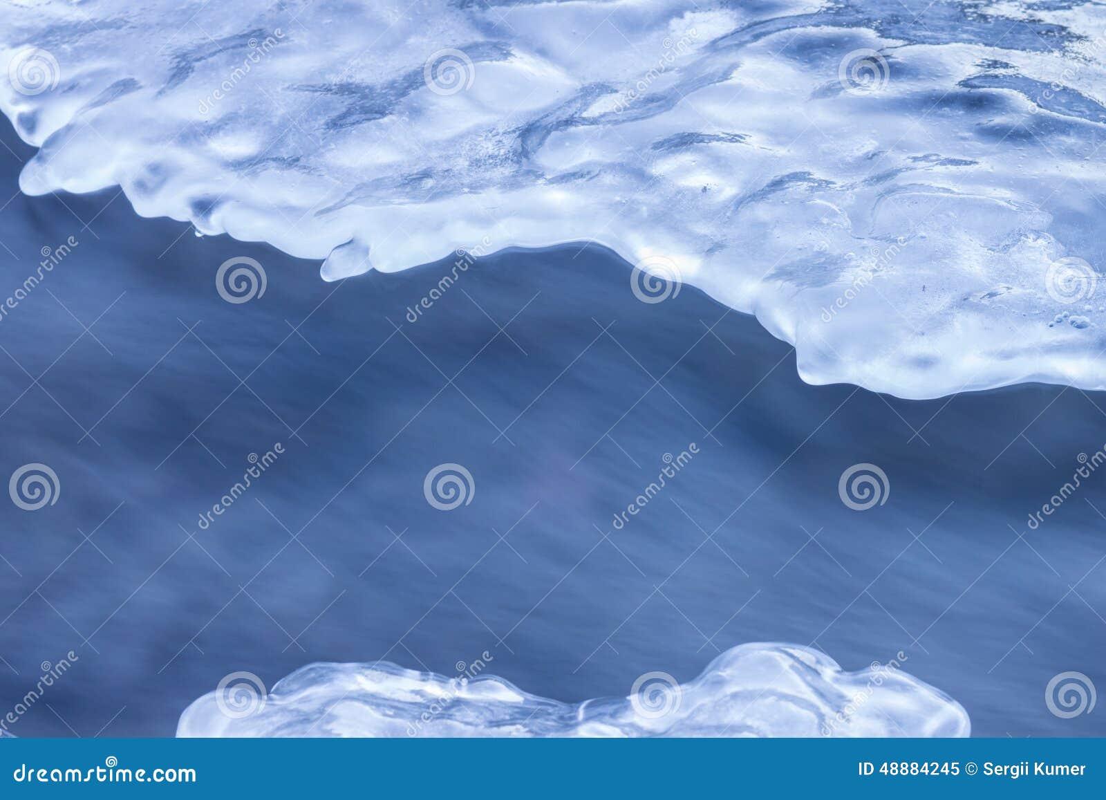Abstrakter Winterhintergrund