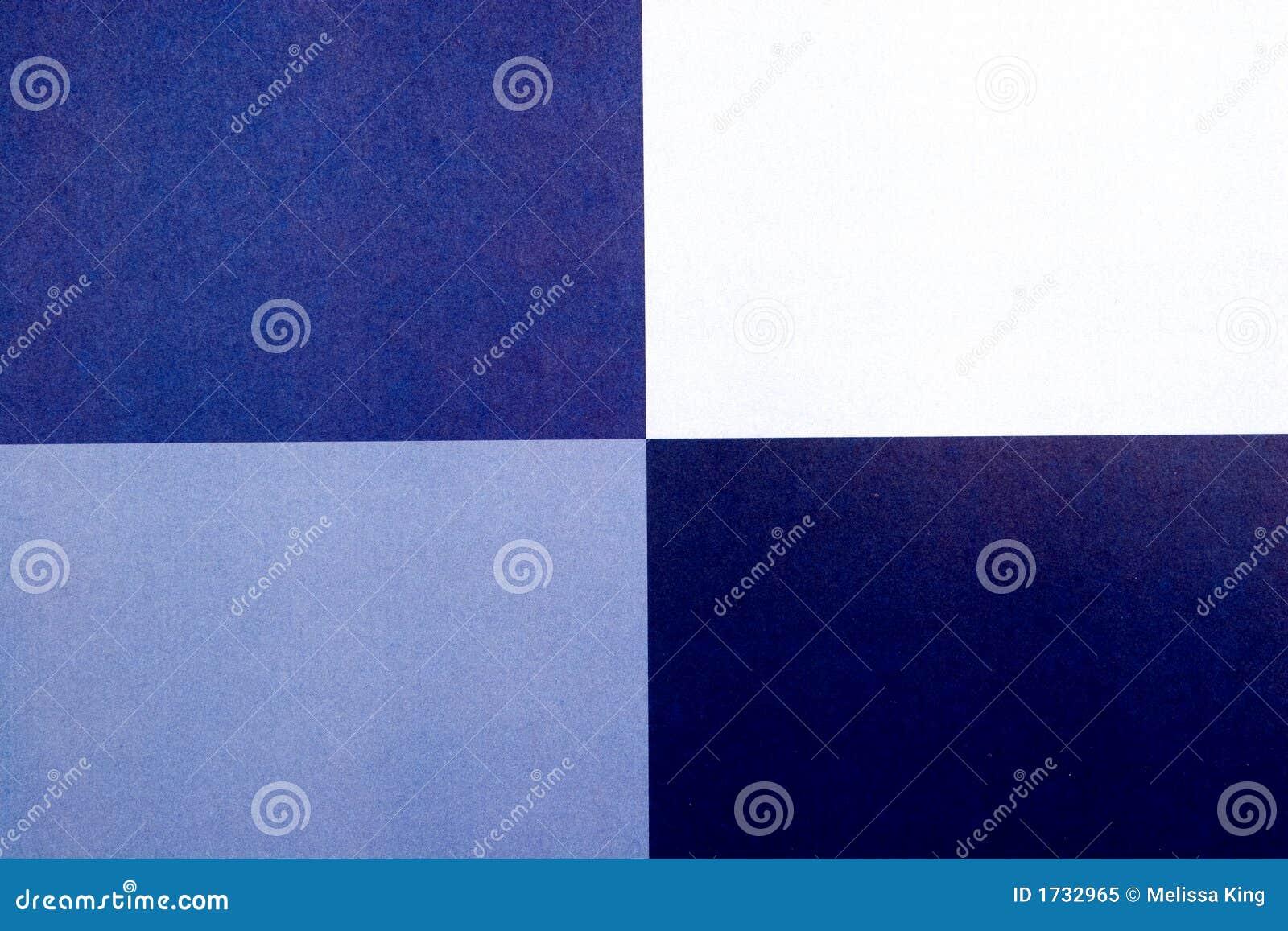 Abstraktes Blau quadriert Hintergrund
