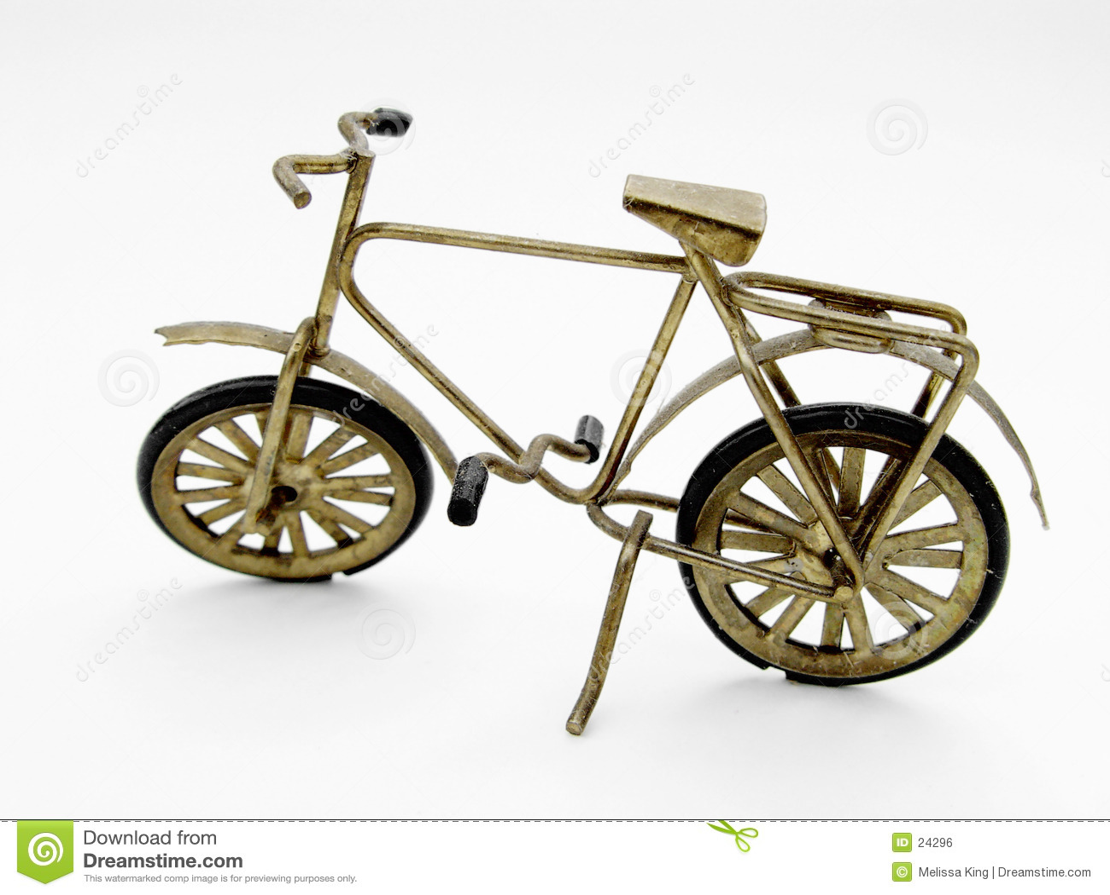 Abstraktes Fahrrad