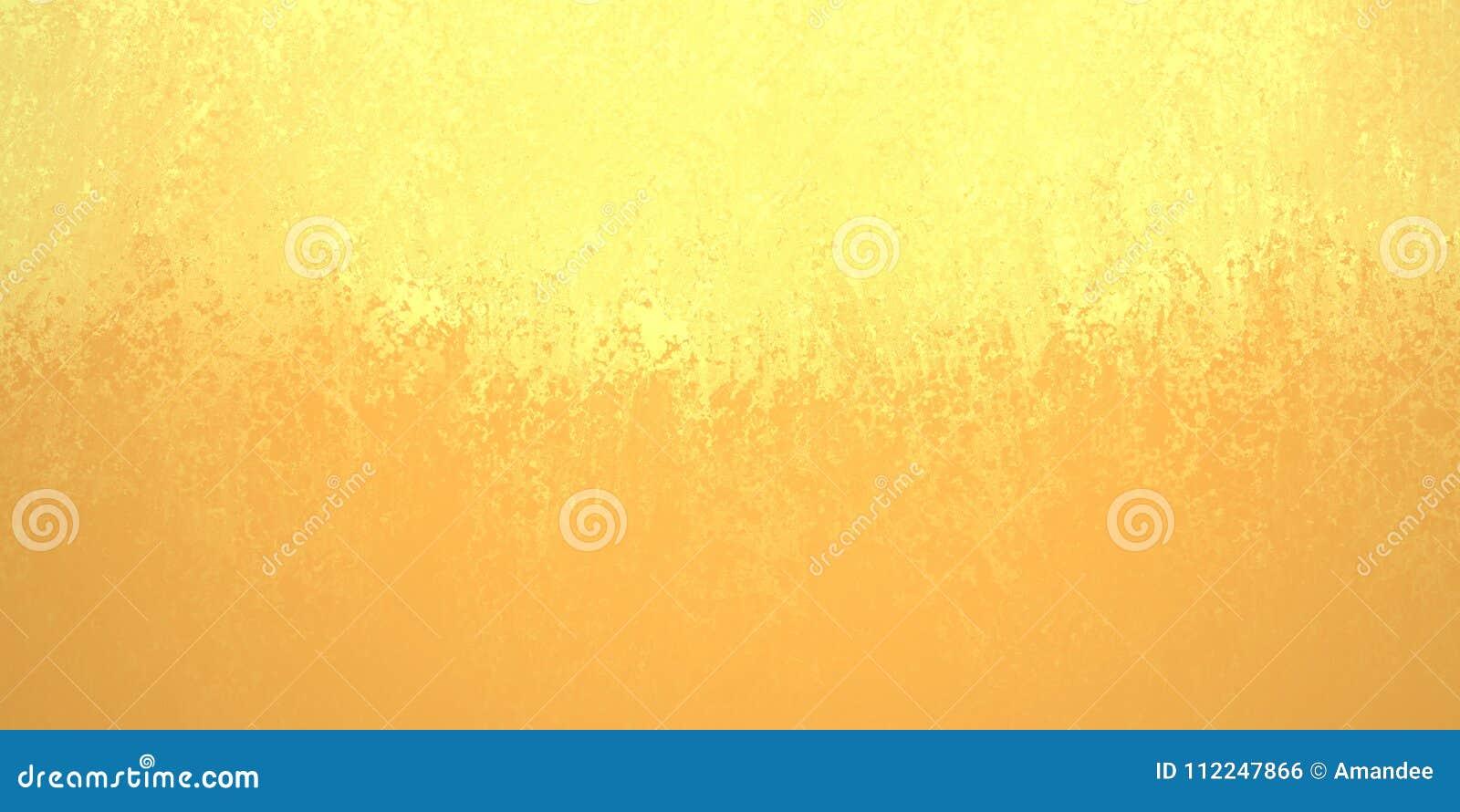 Abstraktes gelbes Goldhintergrunddesign, Grenze hat dunklere orange Farbränder