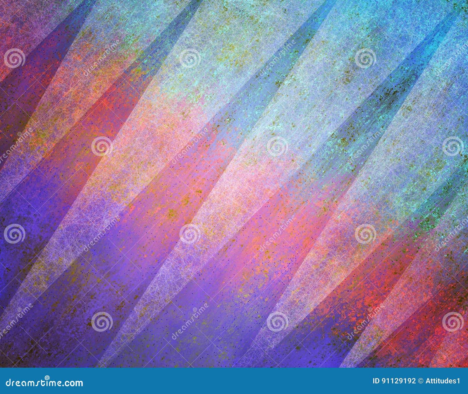 Abstraktes Hintergrunddesign mit Dreieckformen und -beschaffenheit in purpurrotem Blauem und rosa