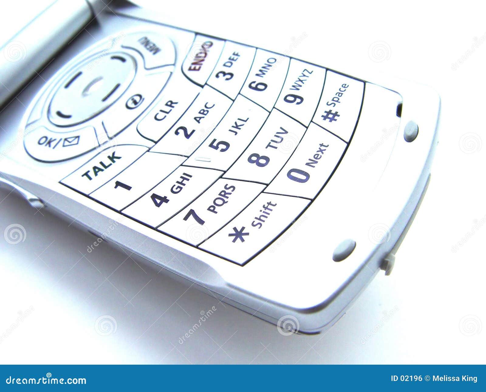 Abstraktes Mobiltelefon
