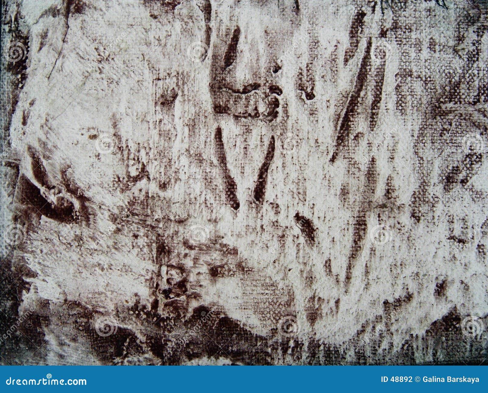 Abstraktes Segeltuch grunge Muster