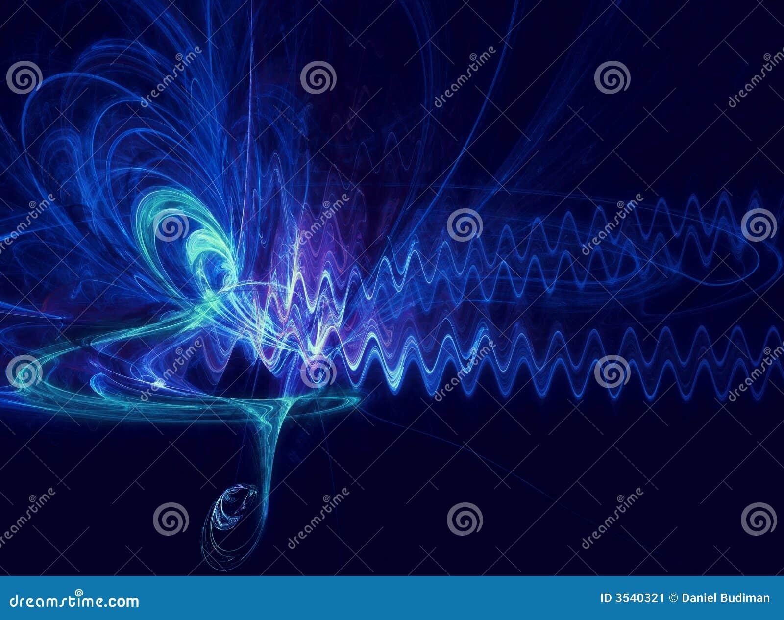 Abstraktes soundwave