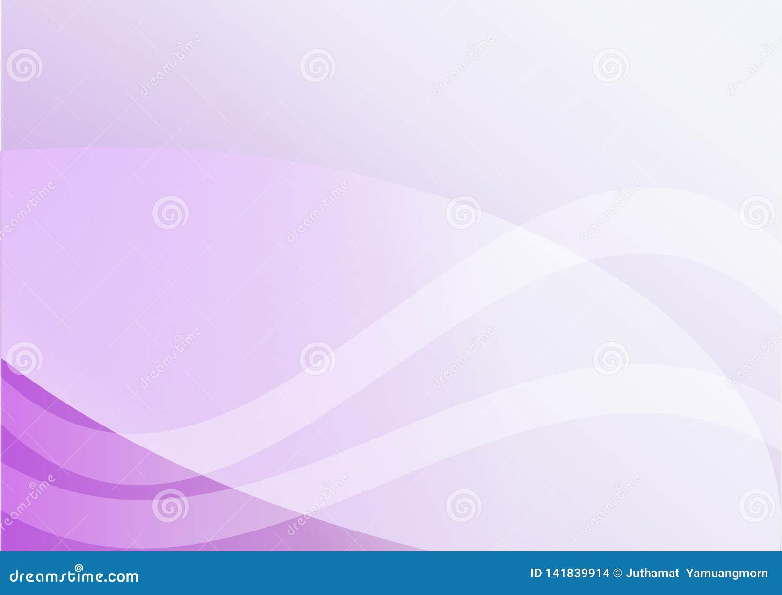 Abstraktes Veilchen, purpurrote Kurvenlichtlinie Hintergrund Für Ihren Text
