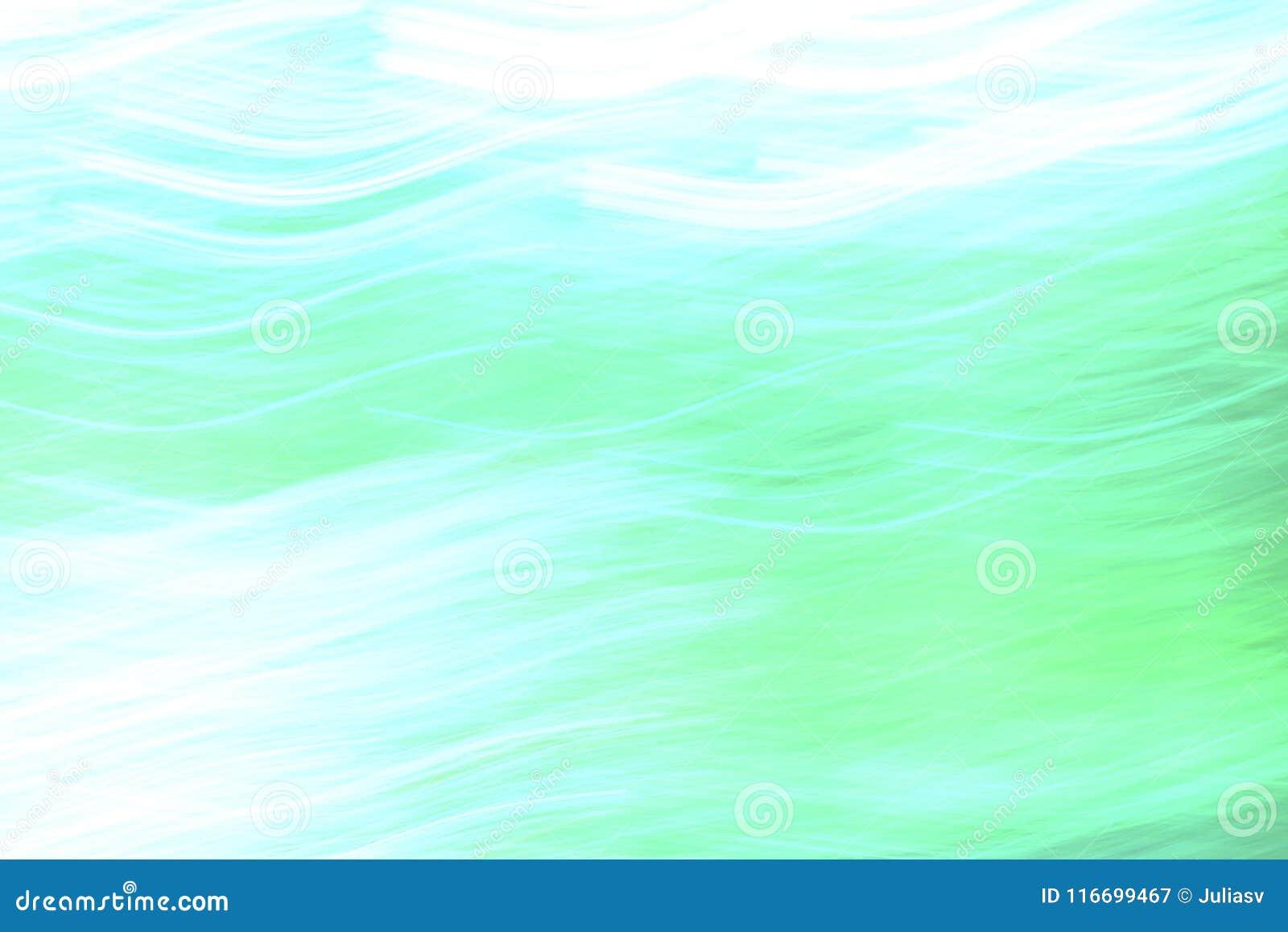Abstraktes Weiche verwischte Hintergrund mit den blauen, grünen und weißen Farben
