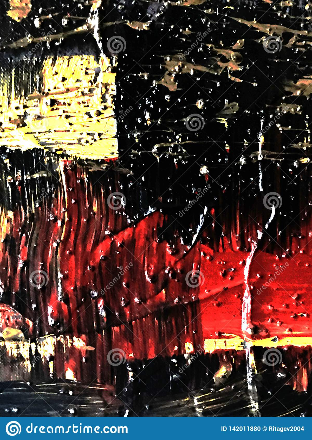 Abstraktions-malender Hintergrund