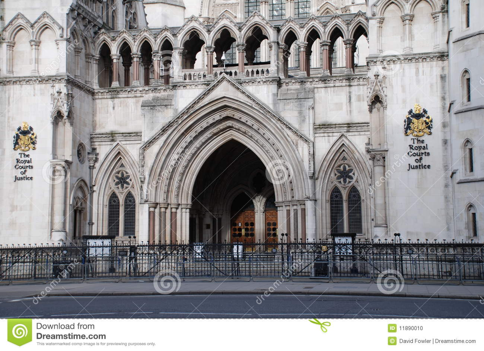 Absztyfikuje sprawiedliwość London królewski