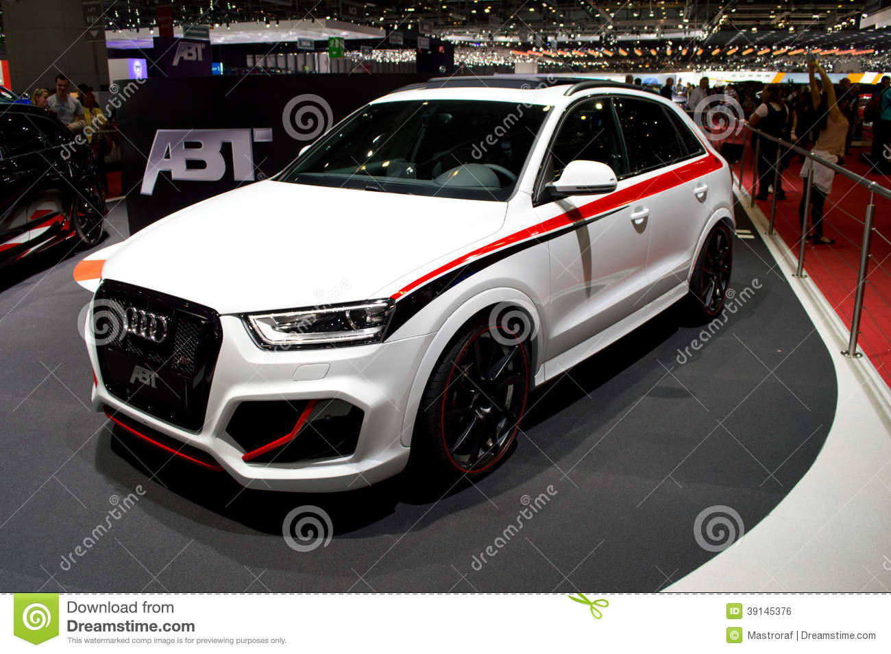 abt audi  geneva  editorial photo image