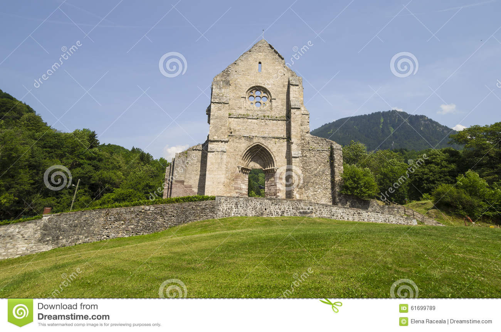 Abtei von Heilig-Jean-d Aulps, Frankreich