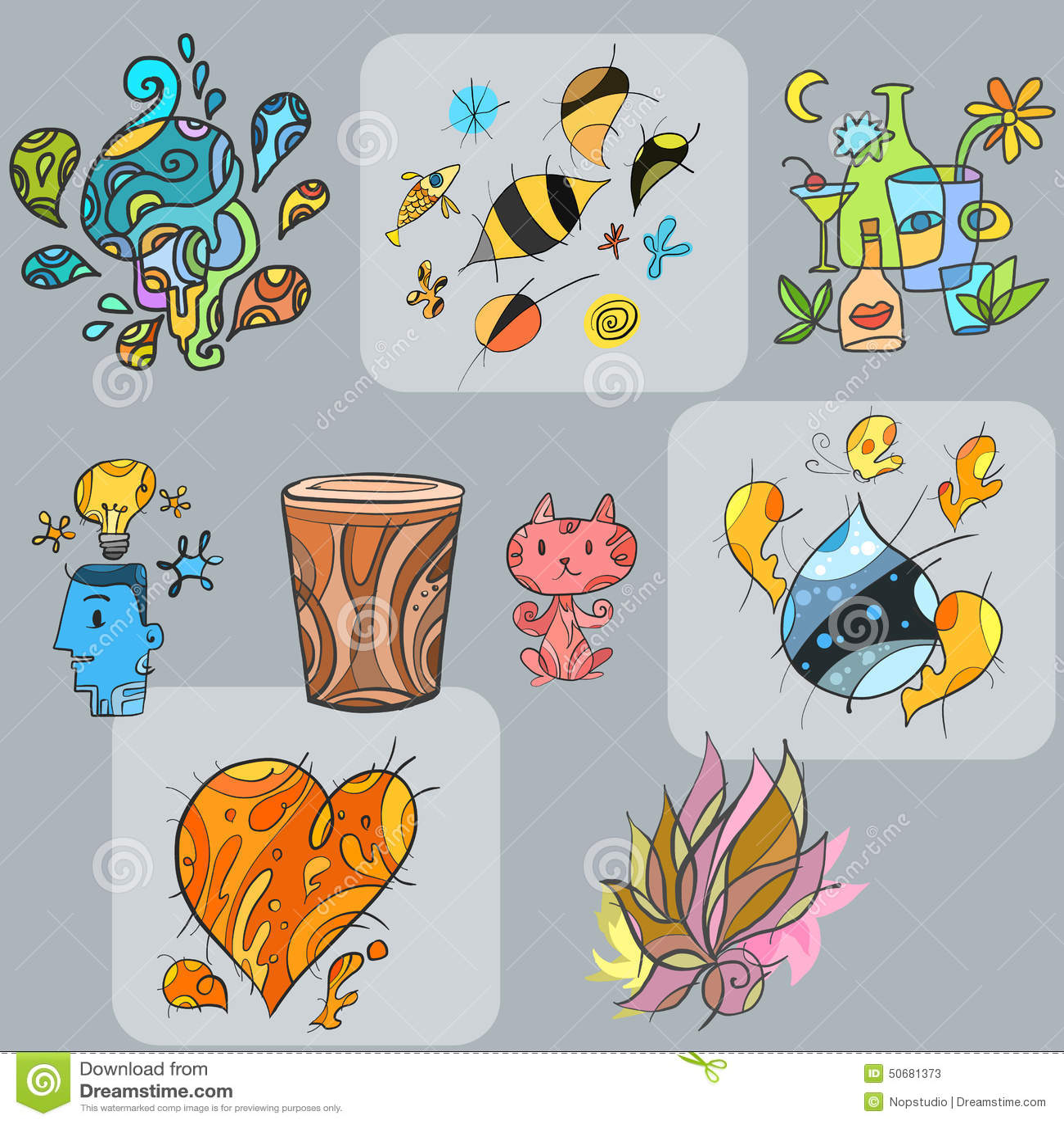 Download Abtract形状 向量例证. 插画 包括有 重点, 生活方式, 装饰, 绿色, 结构树, 圈子, 卷毛 - 50681373