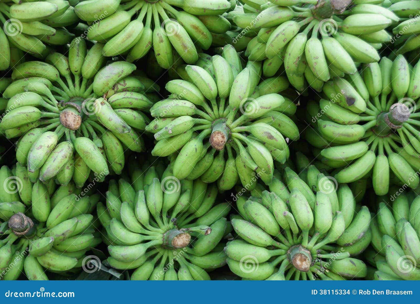 Abtract modell från bananer