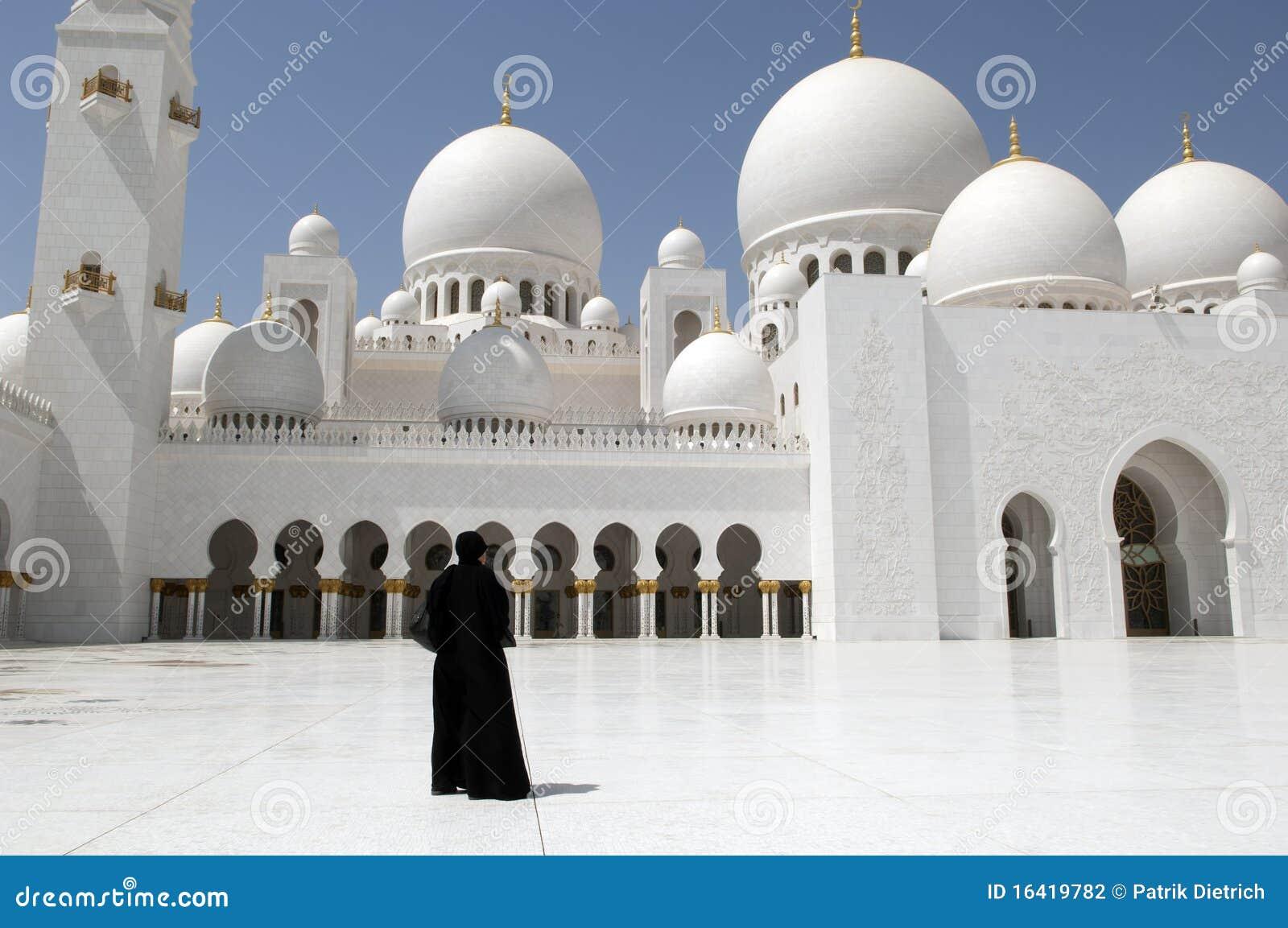 Abu dhabi Dubai meczetowe sheikh kobiety zayed