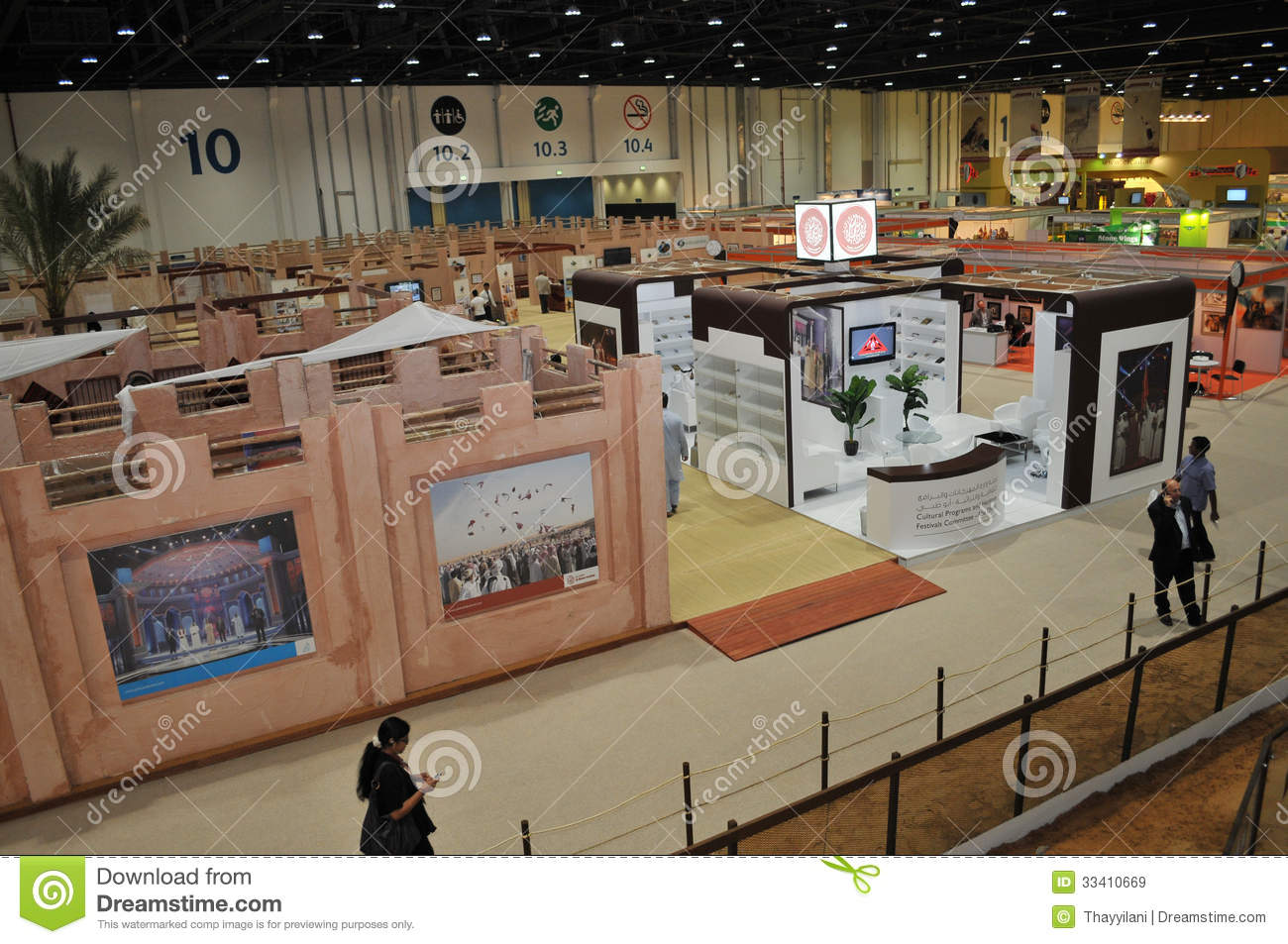 Stall Exhibition Event : Abu dhabi international hunting and equestrian exhibition