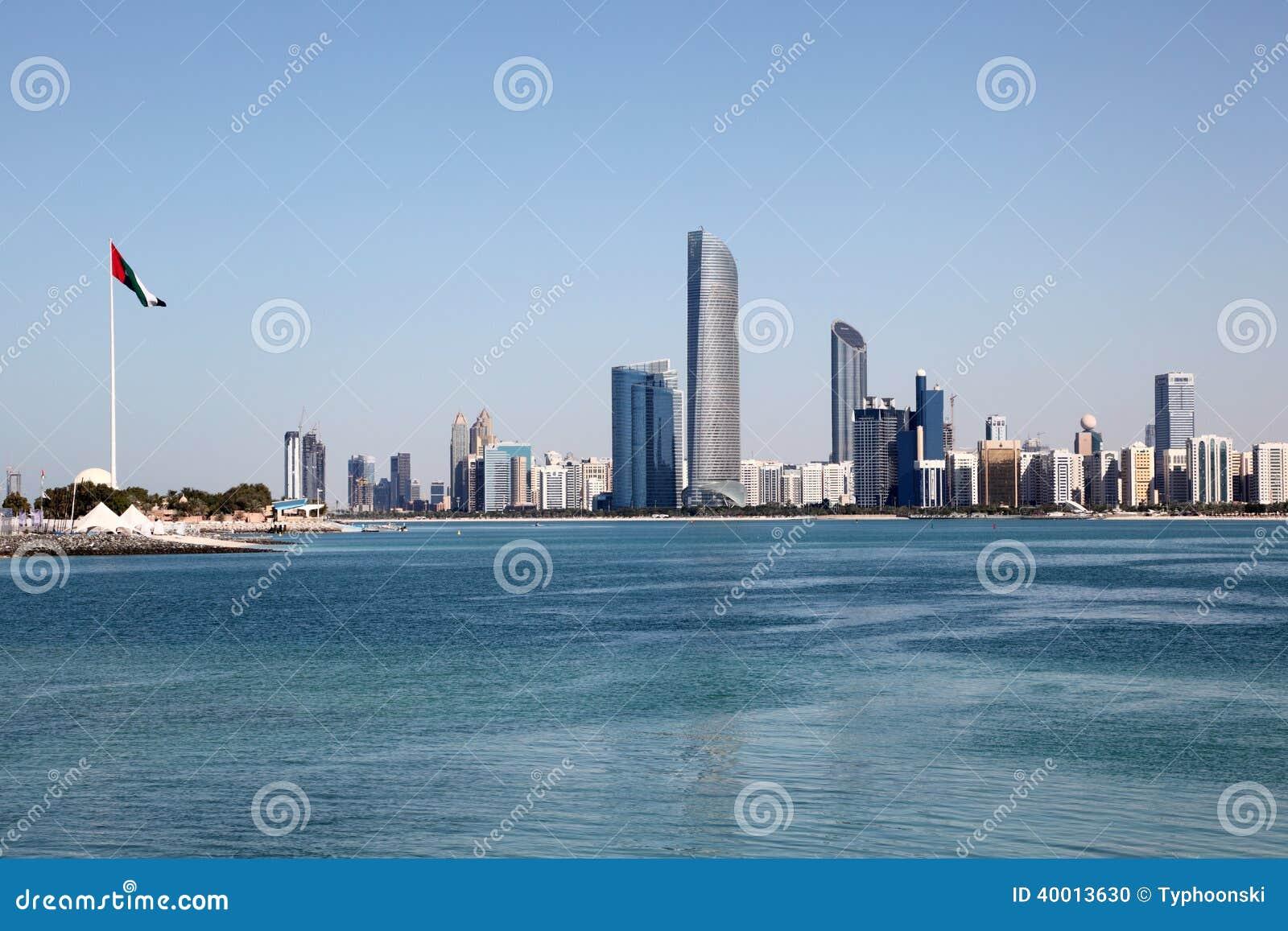 Abu Dhabi linia horyzontu