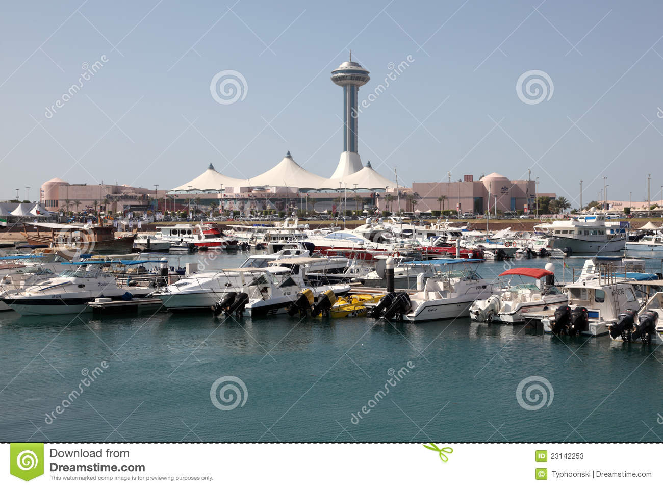 Abu Dhabi Marina Editorial Stock Photo Image 23142253