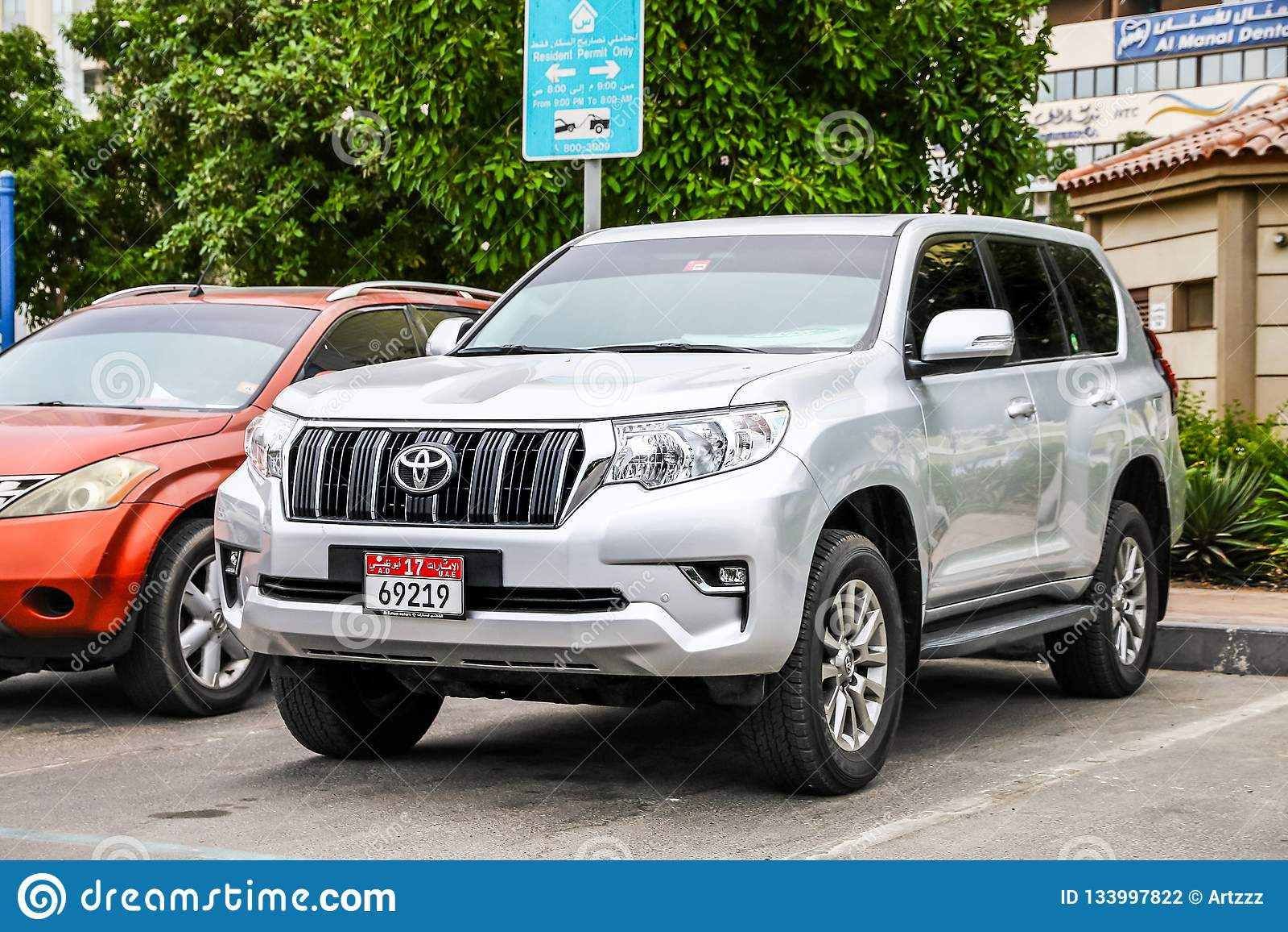 Toyota Land Cruiser Prado 150 Editorial Photography Image Of