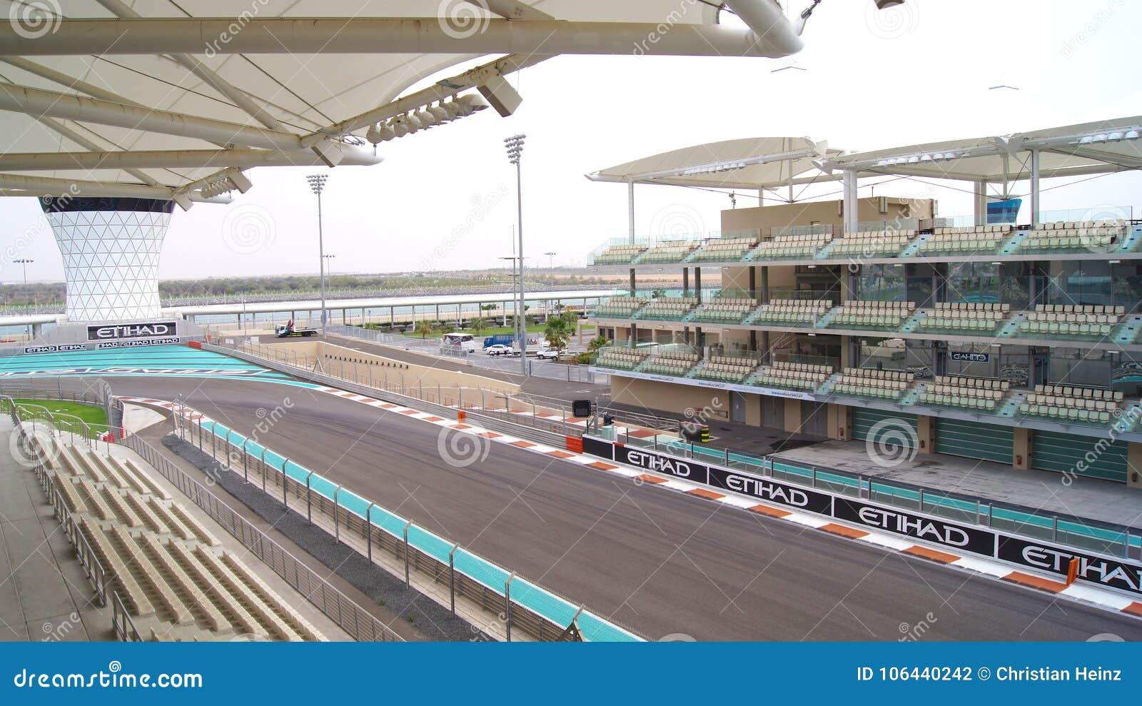 Circuito Yas Marina : Abu dhabi united arab emirates 4 de abril de 2014: el yas marina