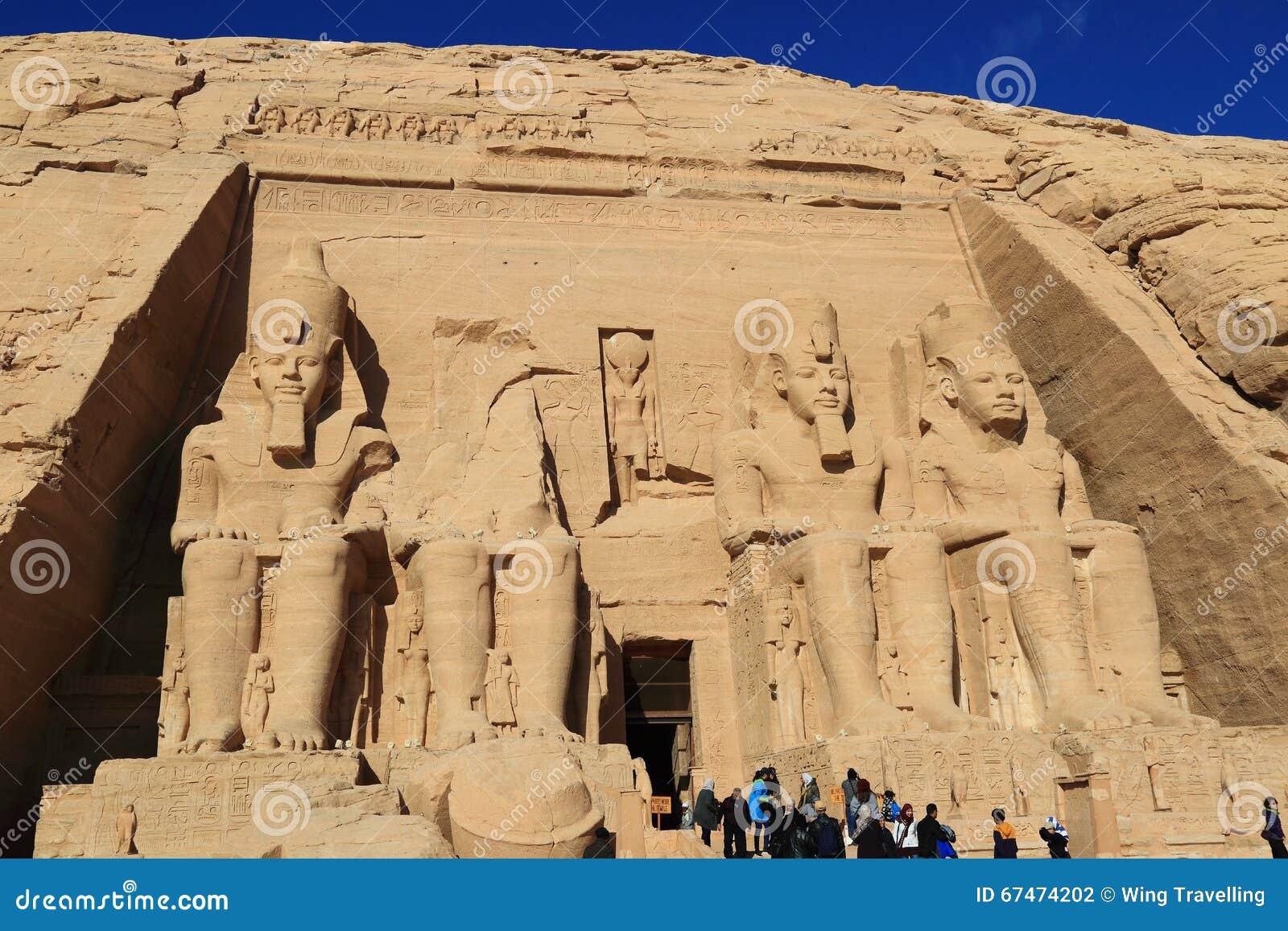 Abu Simbel świątynia