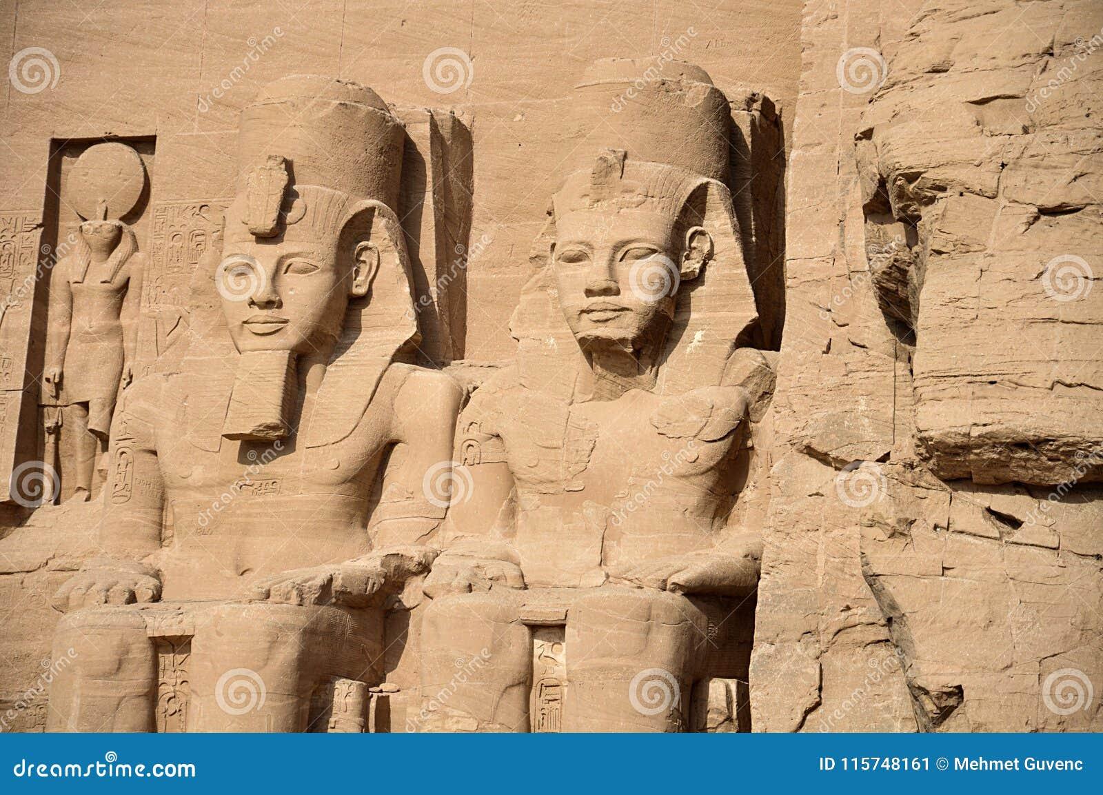 Abu Simbel-tempels, Oud Zuid-Egypte
