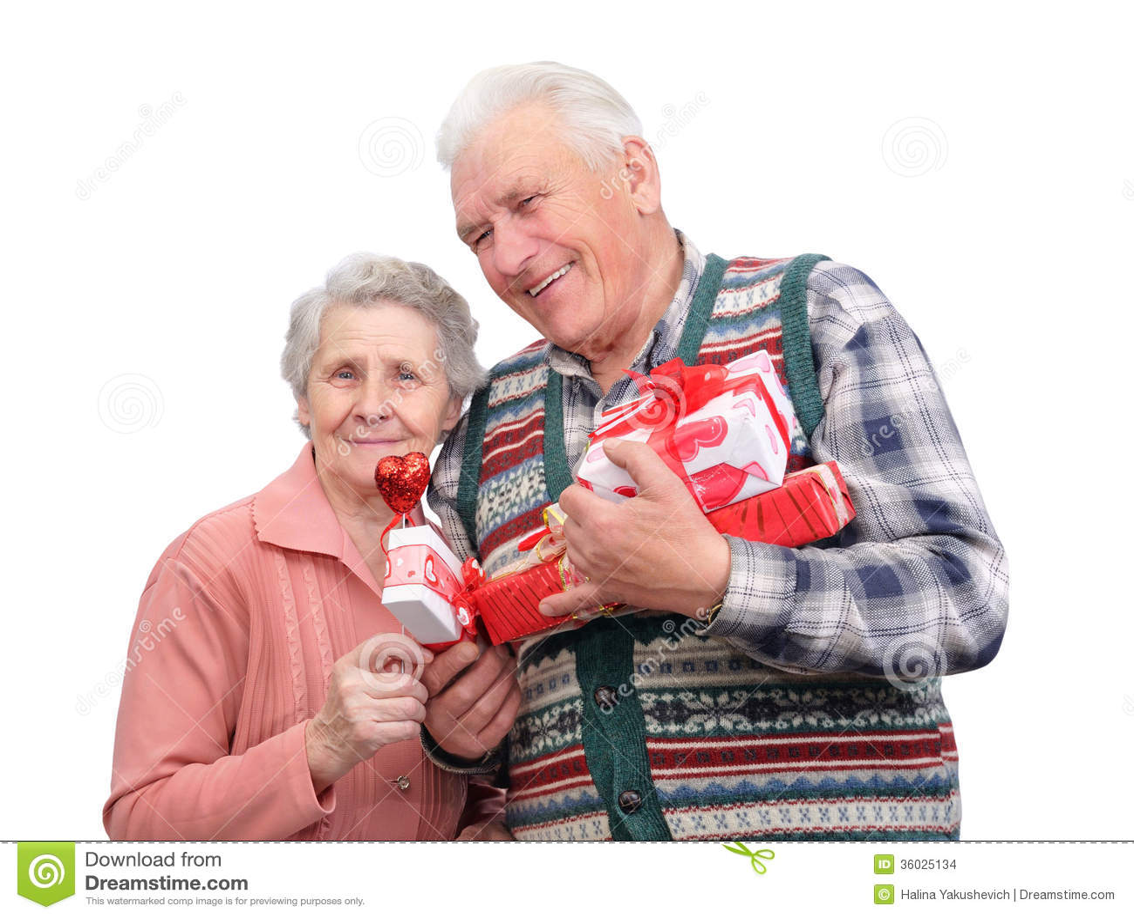 Paja abuela y abuelo