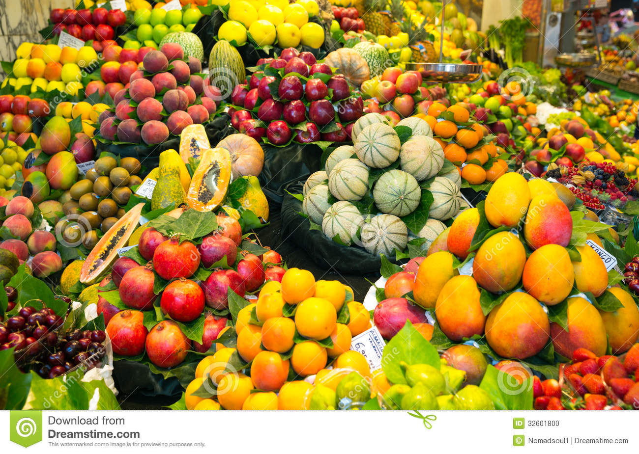 Stock Photo Abundance Fruits Local Market Image32601800 on thumbs up clip art
