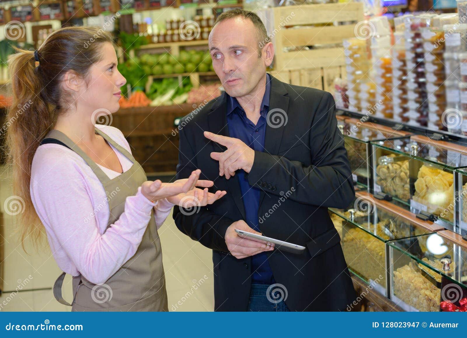Abus dans la boutique