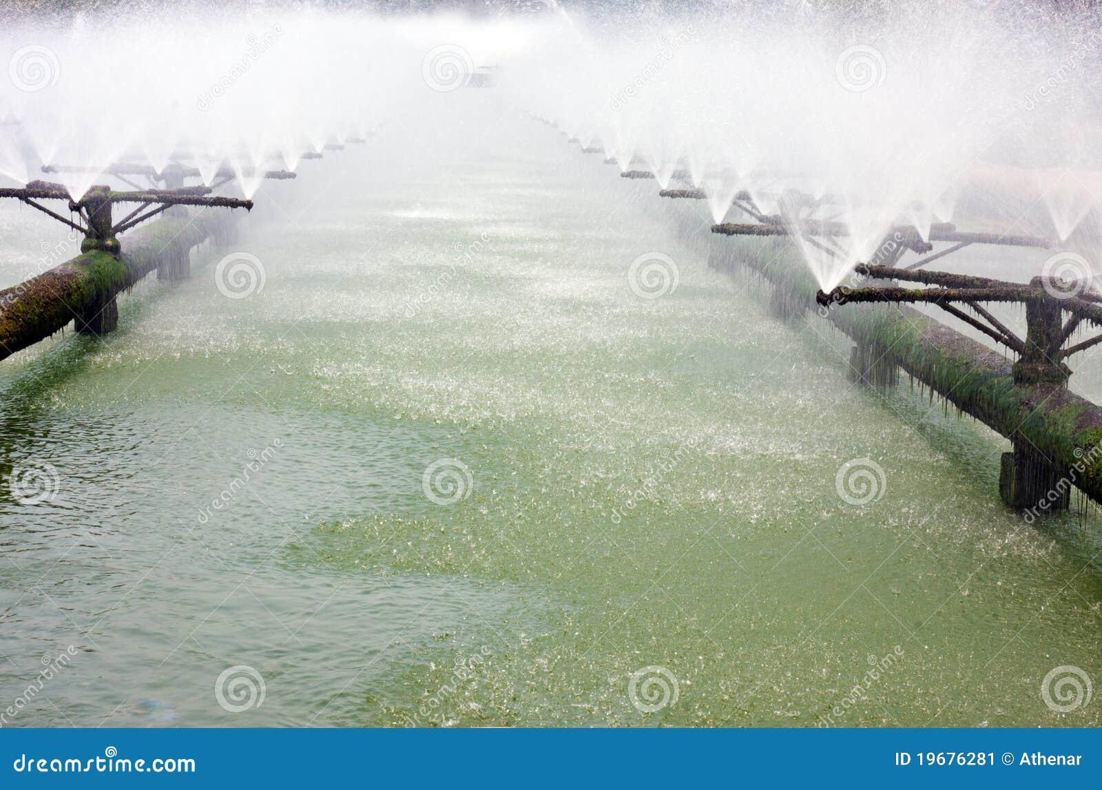 Abwasserbehandlungsystemsrohre