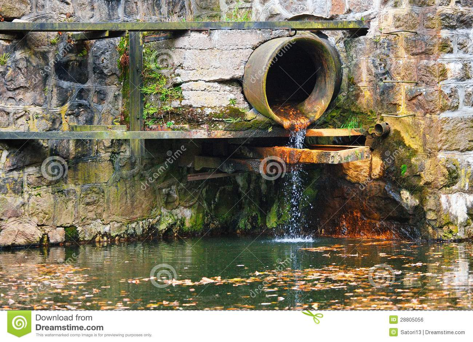 Abwasserrohr