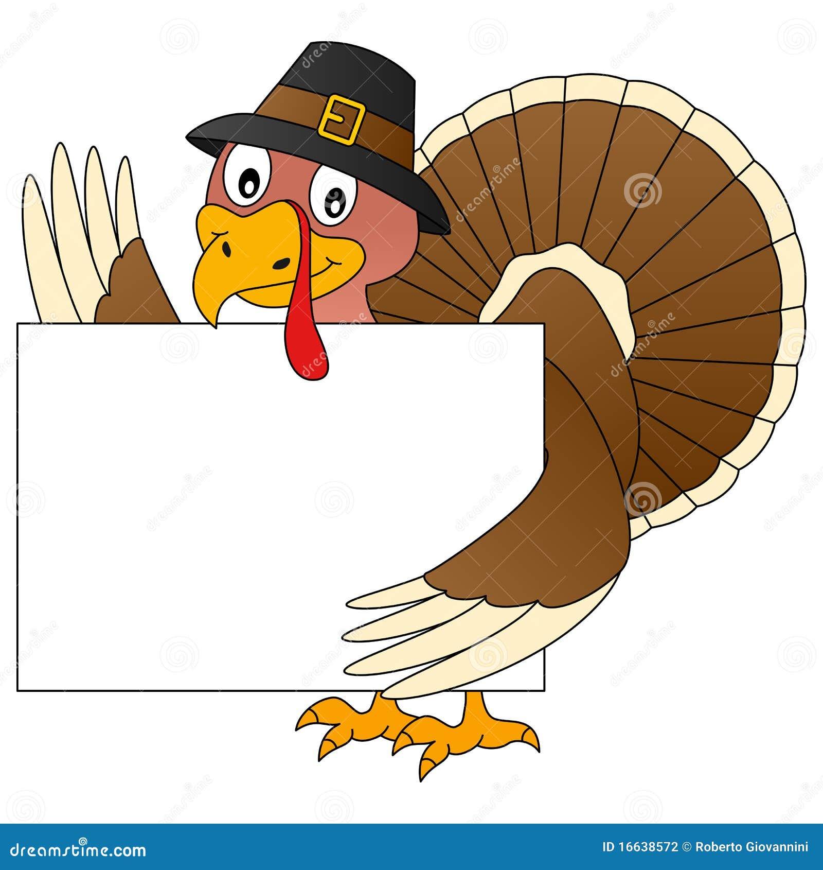 Acção de graças Turquia e bandeira
