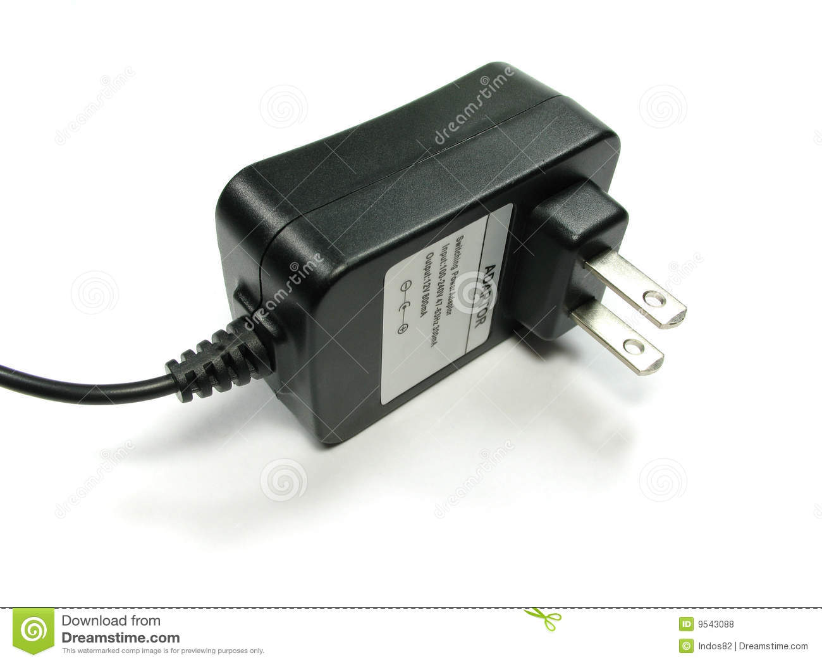 Cartoon Power Cord : Ac adapter royalty free stock image cartoondealer
