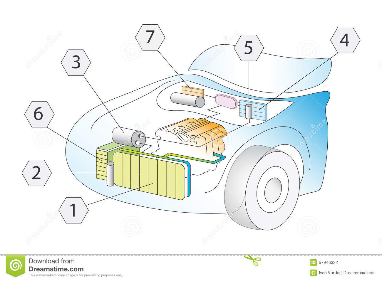 ac, auto air conditioner system schematic