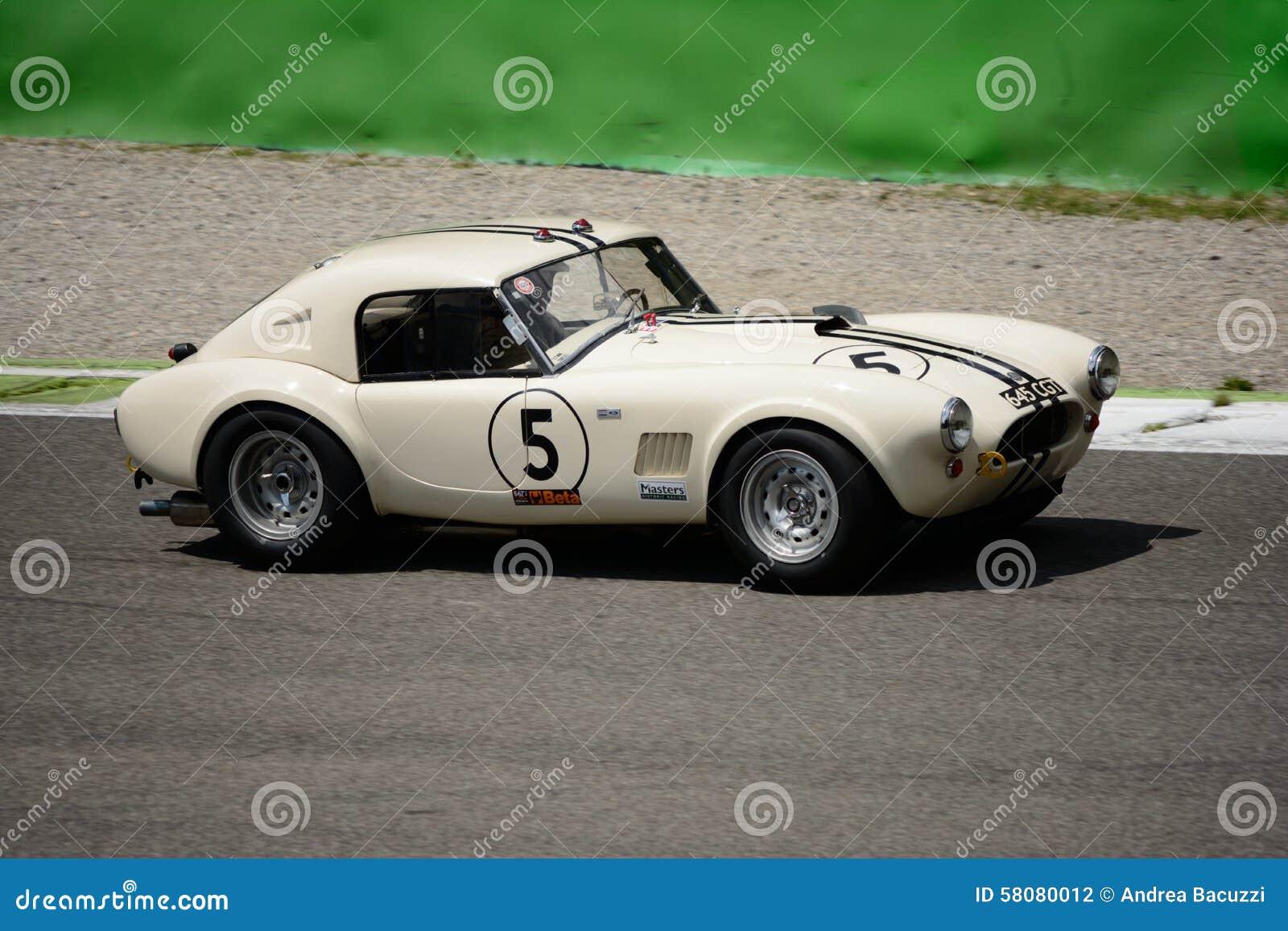 1963 AC Cobra Mk1 289 FIA Roadster Editorial Photography