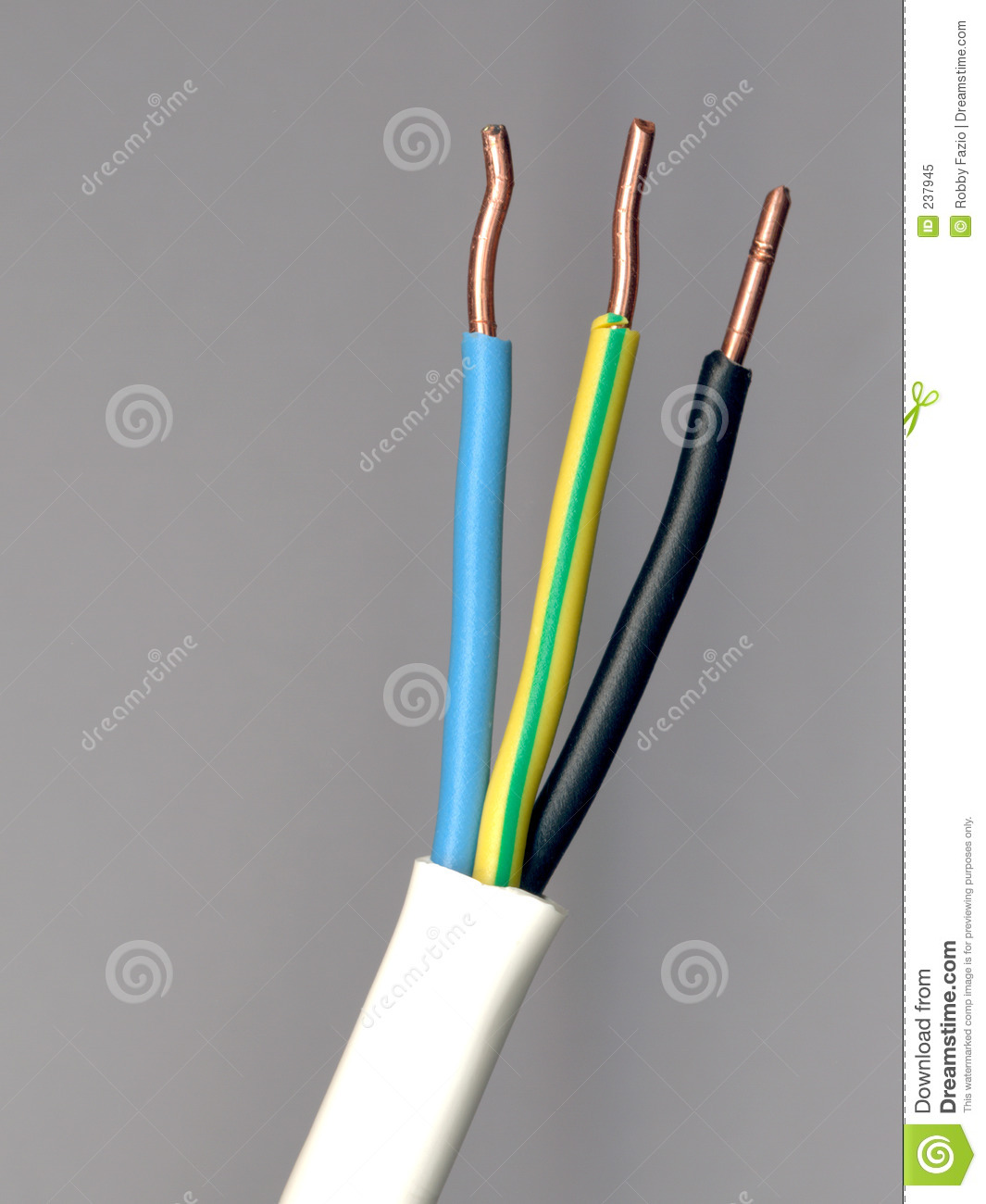 Ac Dc Power Wires Stock Image Of Acdc Cable 237945 Wiring