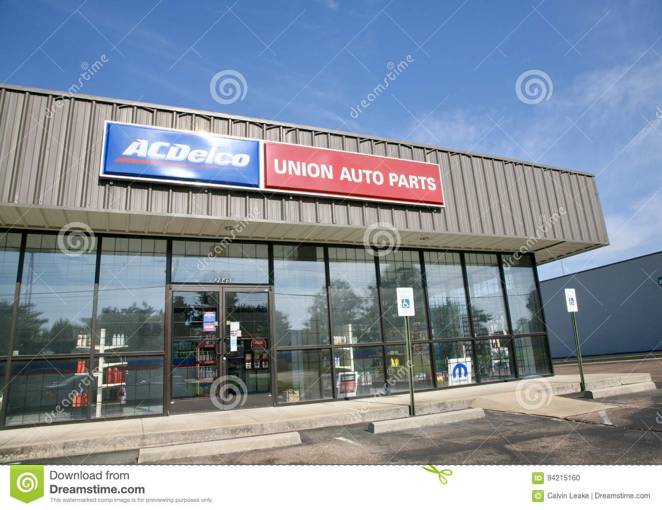 Ac Auto Parts >> Ac Delco Auto Parts Store Editorial Image Image Of Center